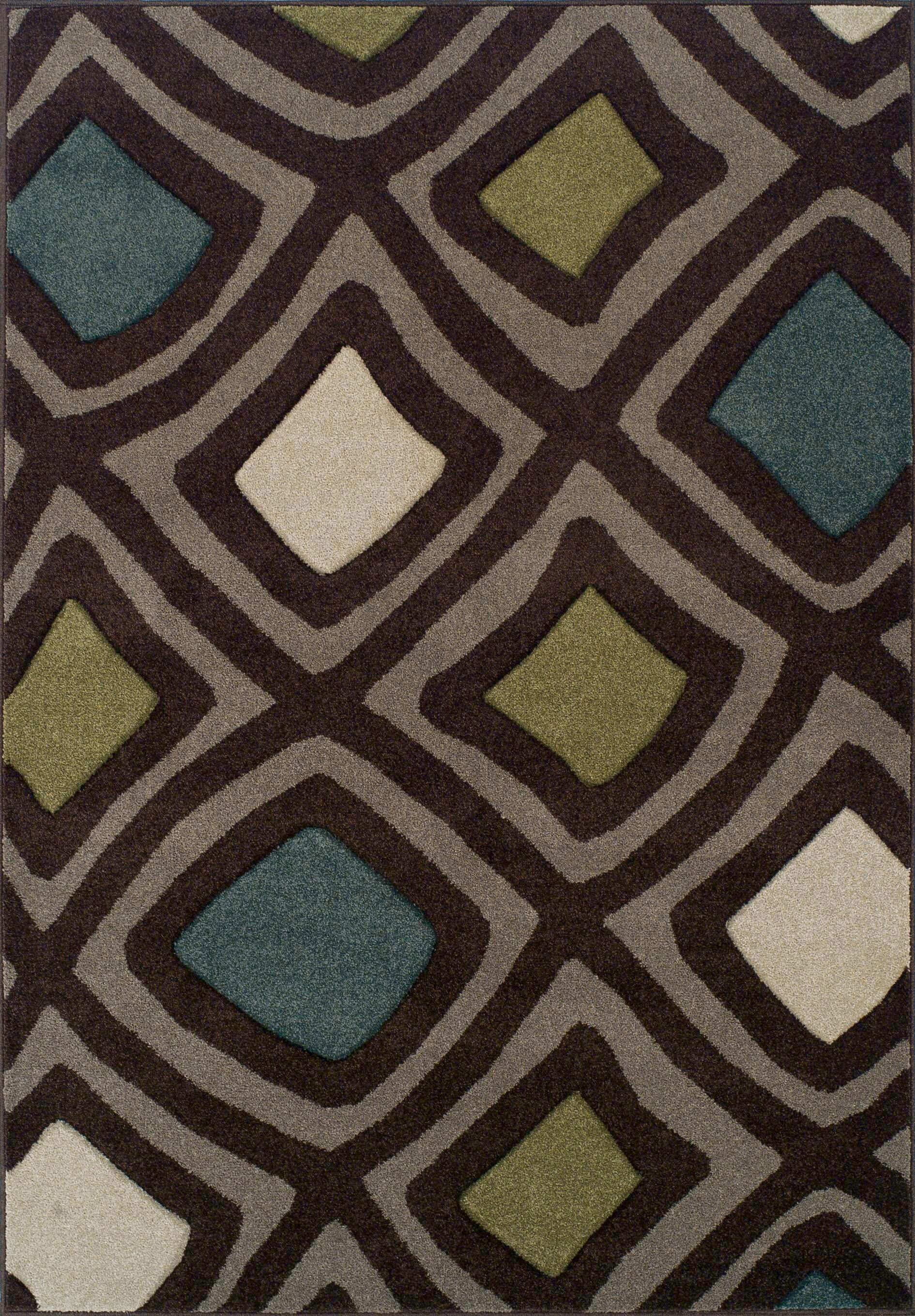 Nicole Chocolate Area Rug Rug Size: Rectangle 3'3