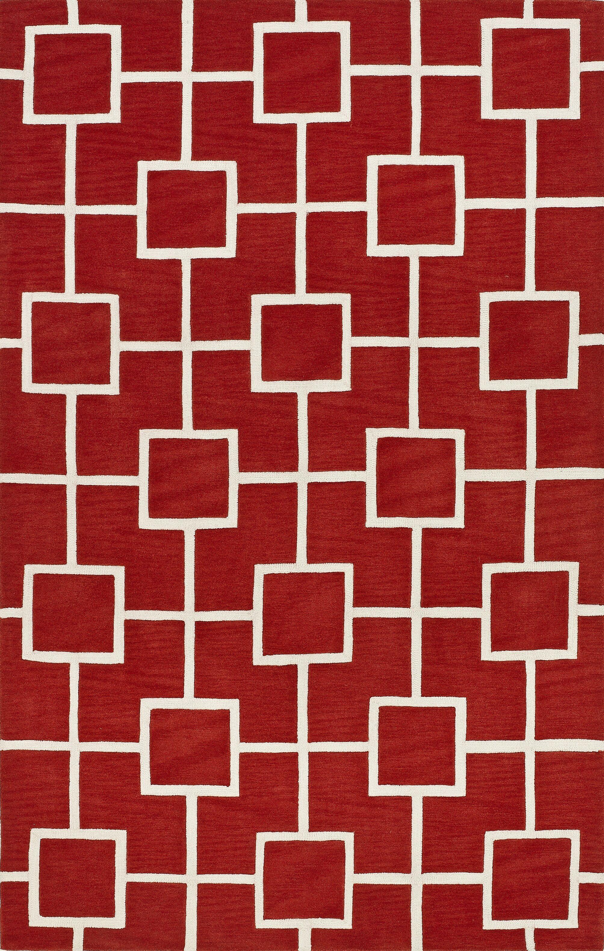 Oriana Lava Area Rug Rug Size: Rectangle 5' x 7'6