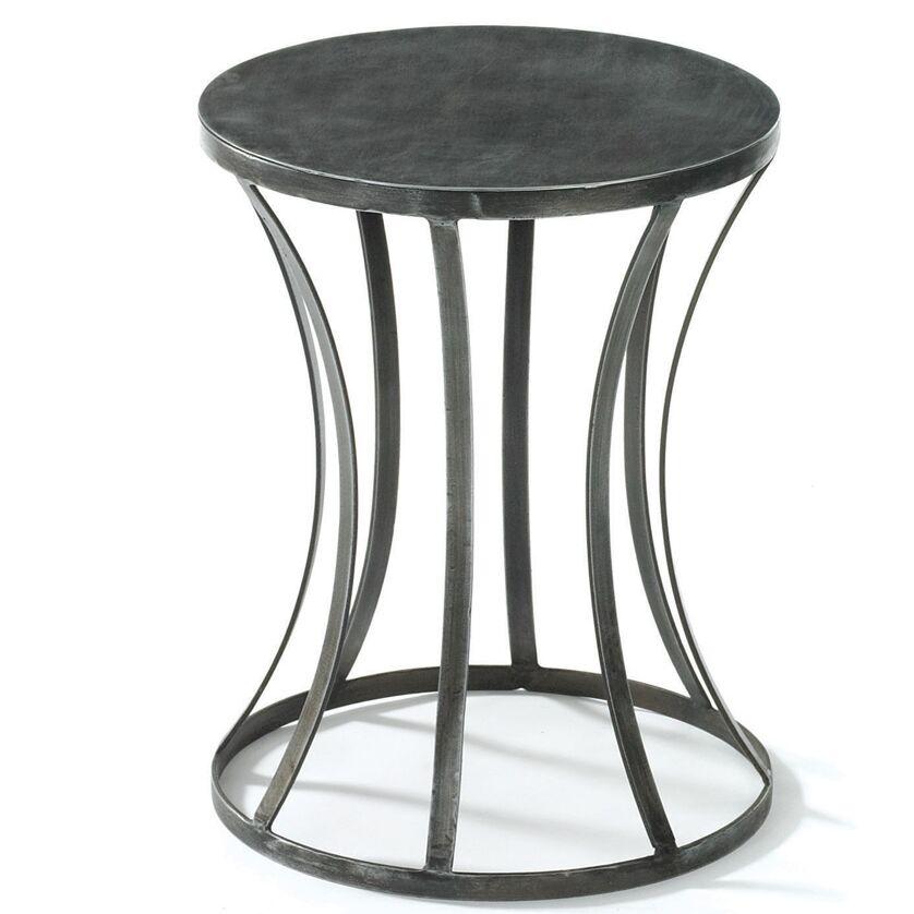 Kyleigh Tin End Table