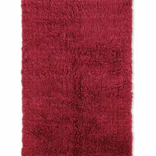 Ransdell Wool Red Area Rug Rug Size: Rectangle 6' x 9'