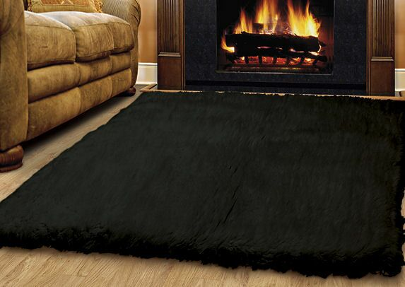 Ransdell Wool Black Area Rug Rug Size: Rectangle 10' x 14'