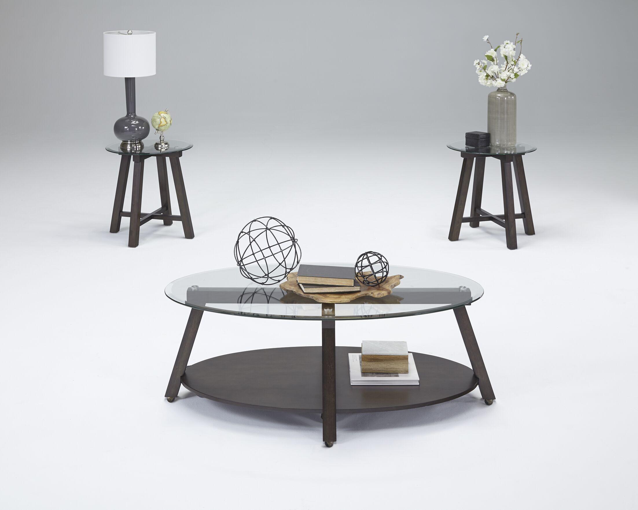 Esteban 3 Piece Coffee Table Set