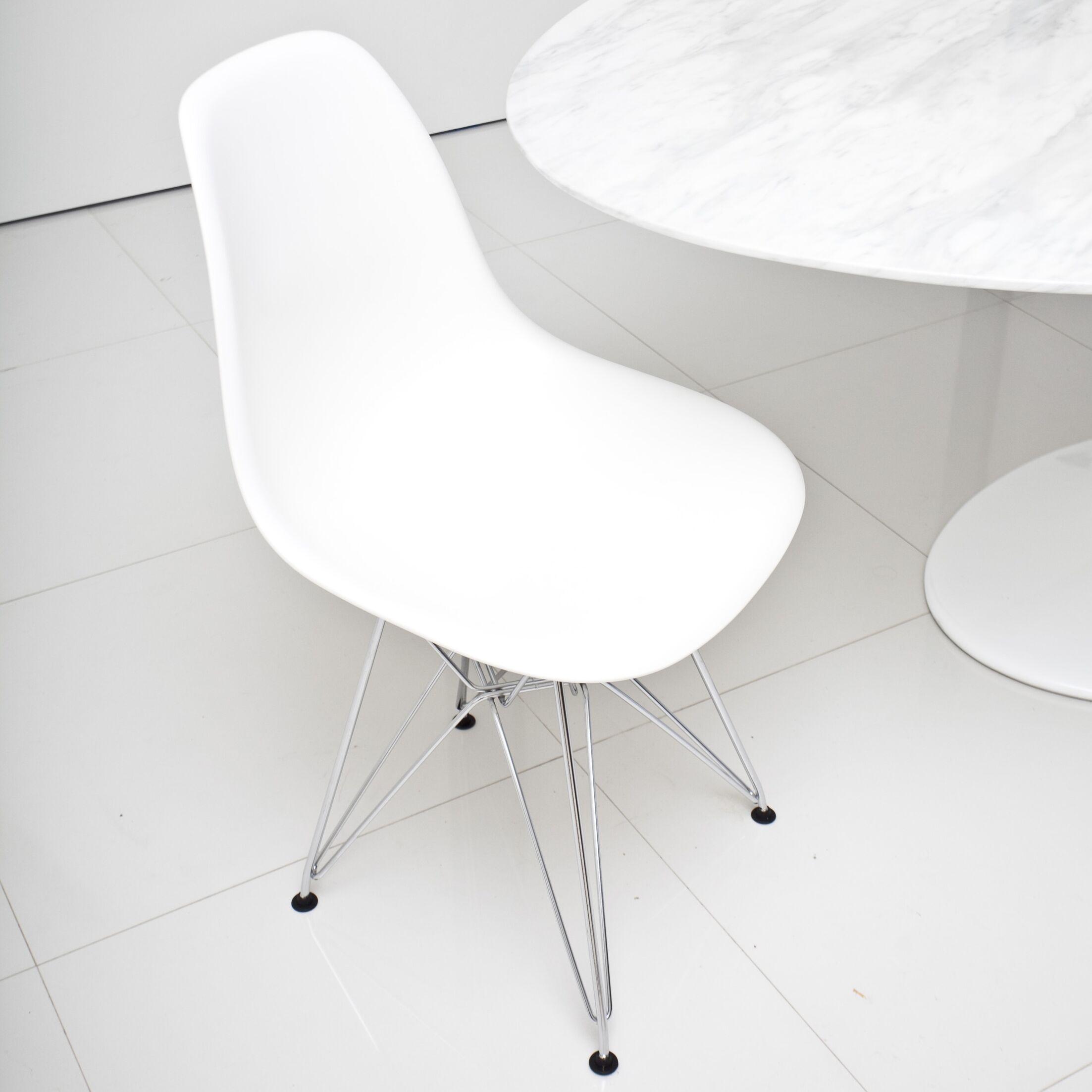 Boer Side Chair Finish: White