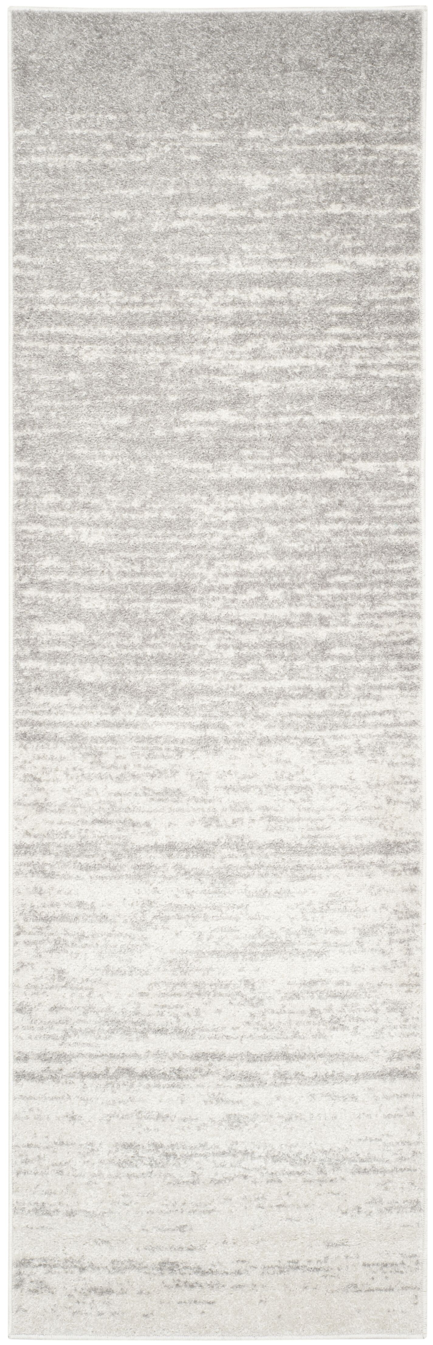 Mcguire Ivory/Silver Area Rug Rug Size: Runner 2'6