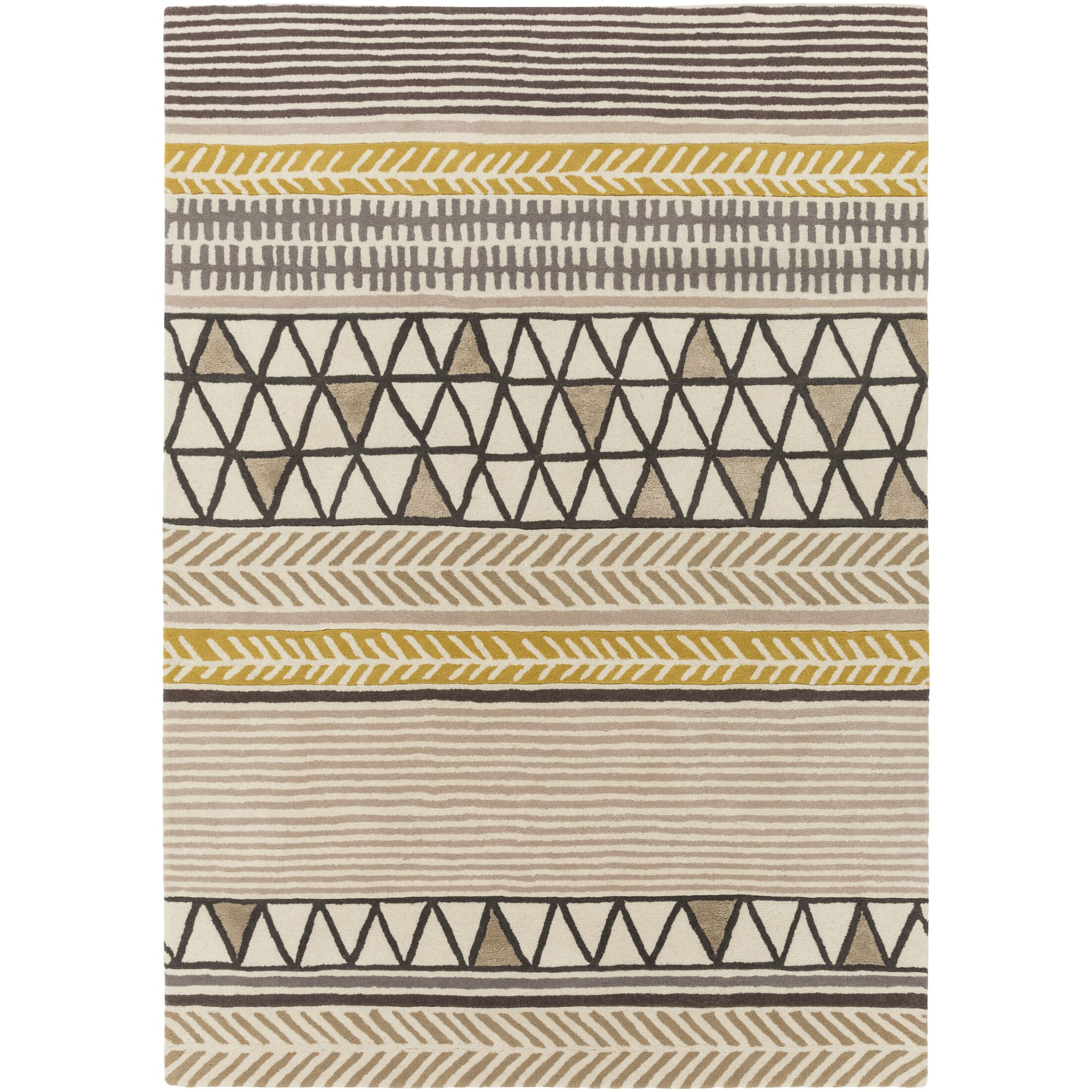 Julienne Hand-Tufted Area Rug Rug Size: Rectangle 3'3