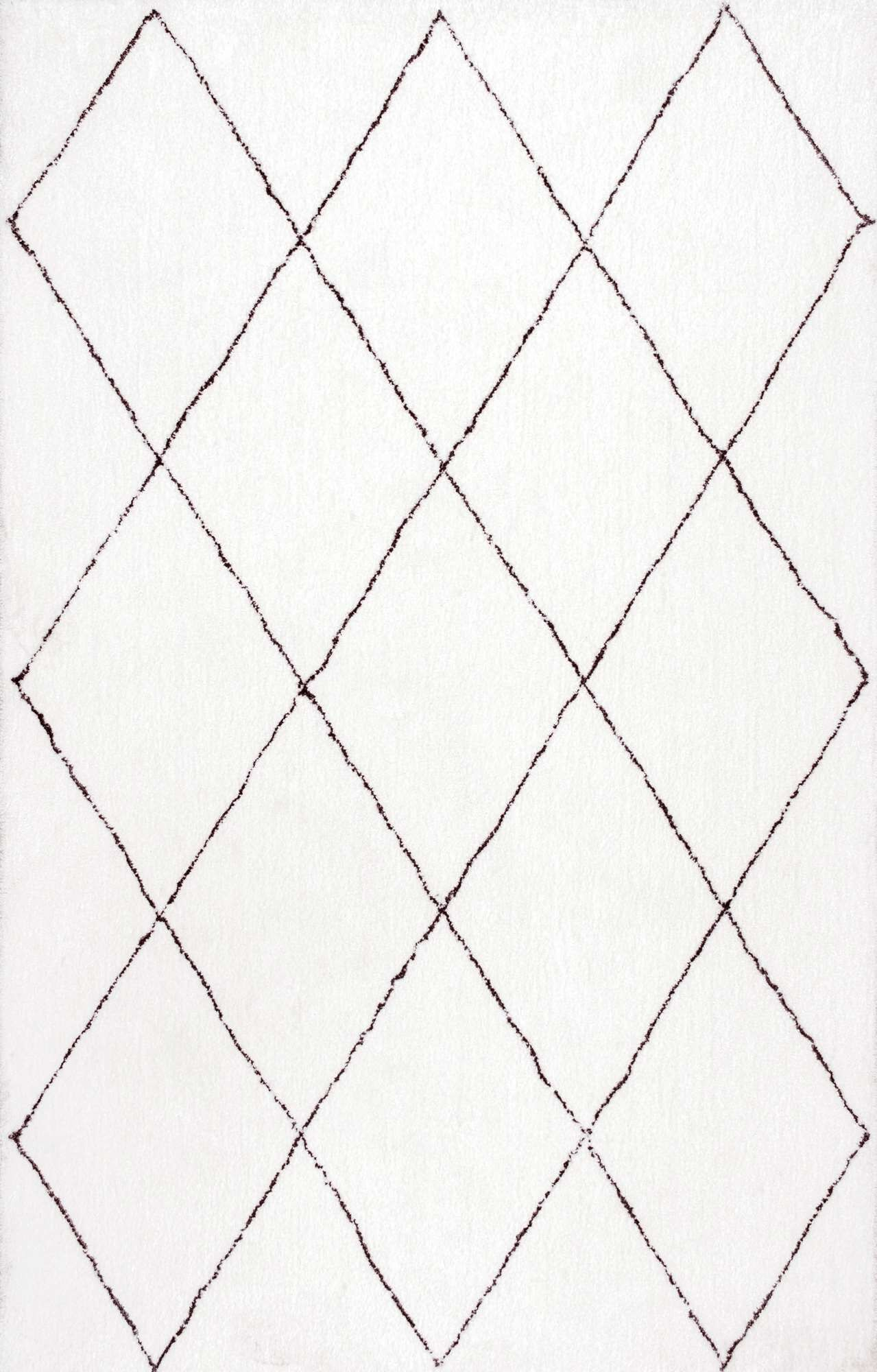 Glade Hand-Tufted Ivory Area Rug Rug Size: Rectangle 10' x 14'