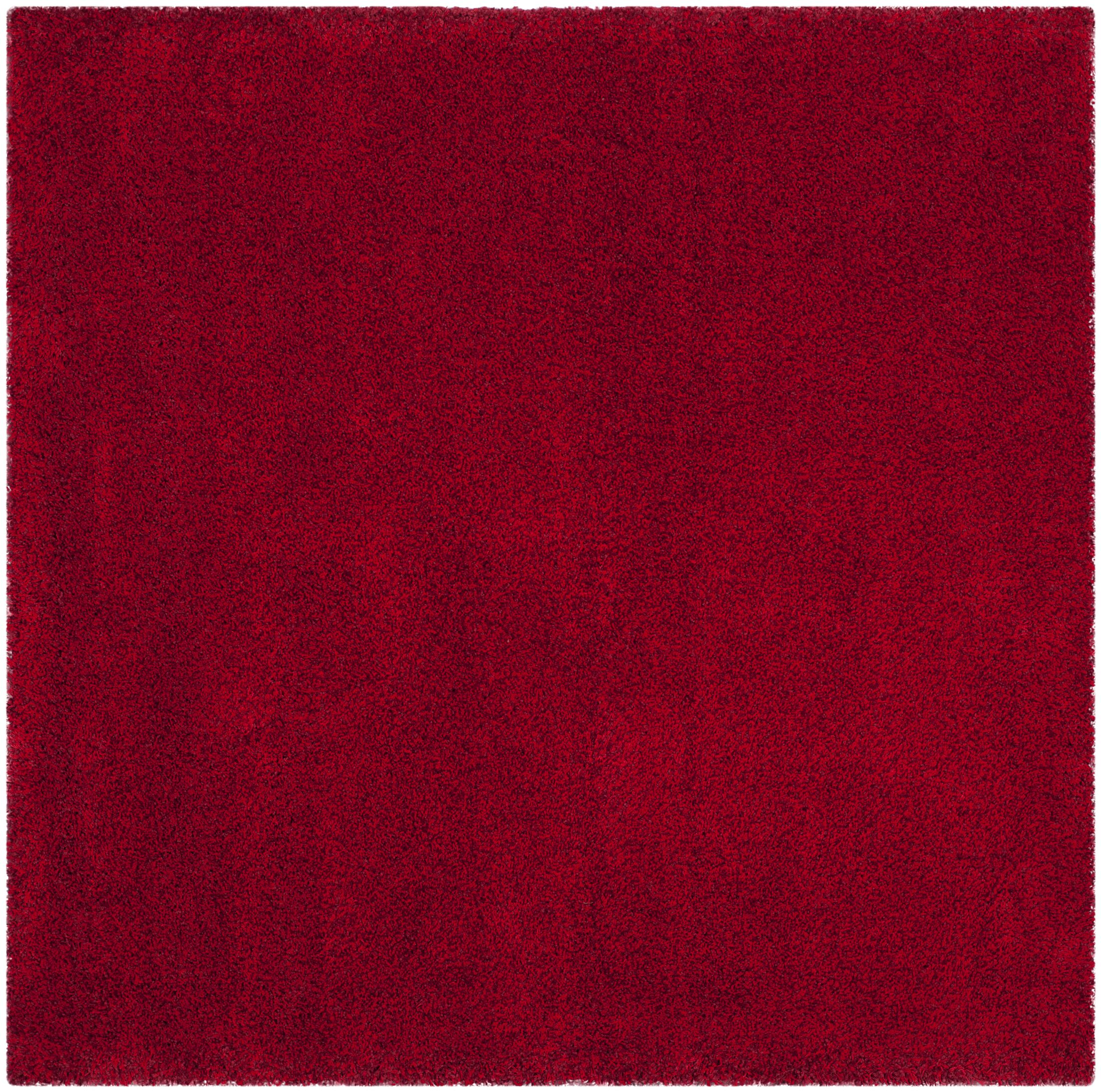 Brickner Red Area Rug Rug Size: Square 6'7
