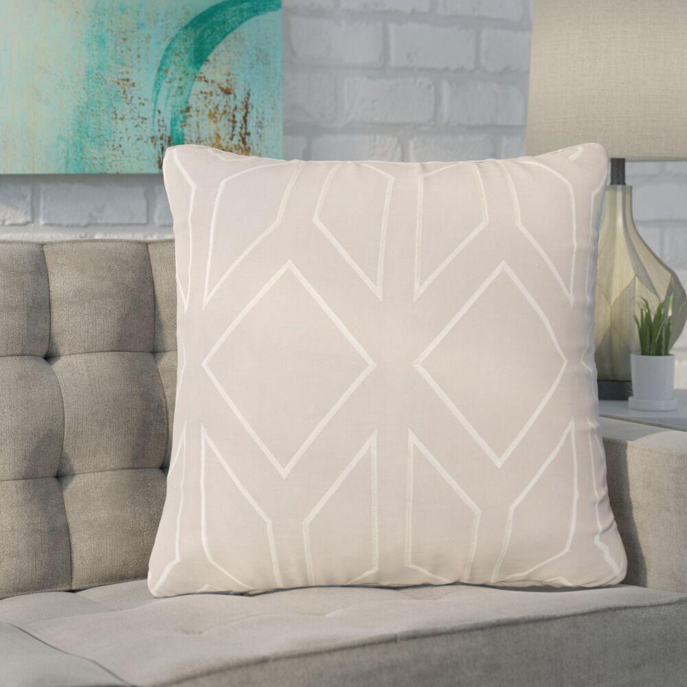 Baccus Linen Pillow Cover Size: 22