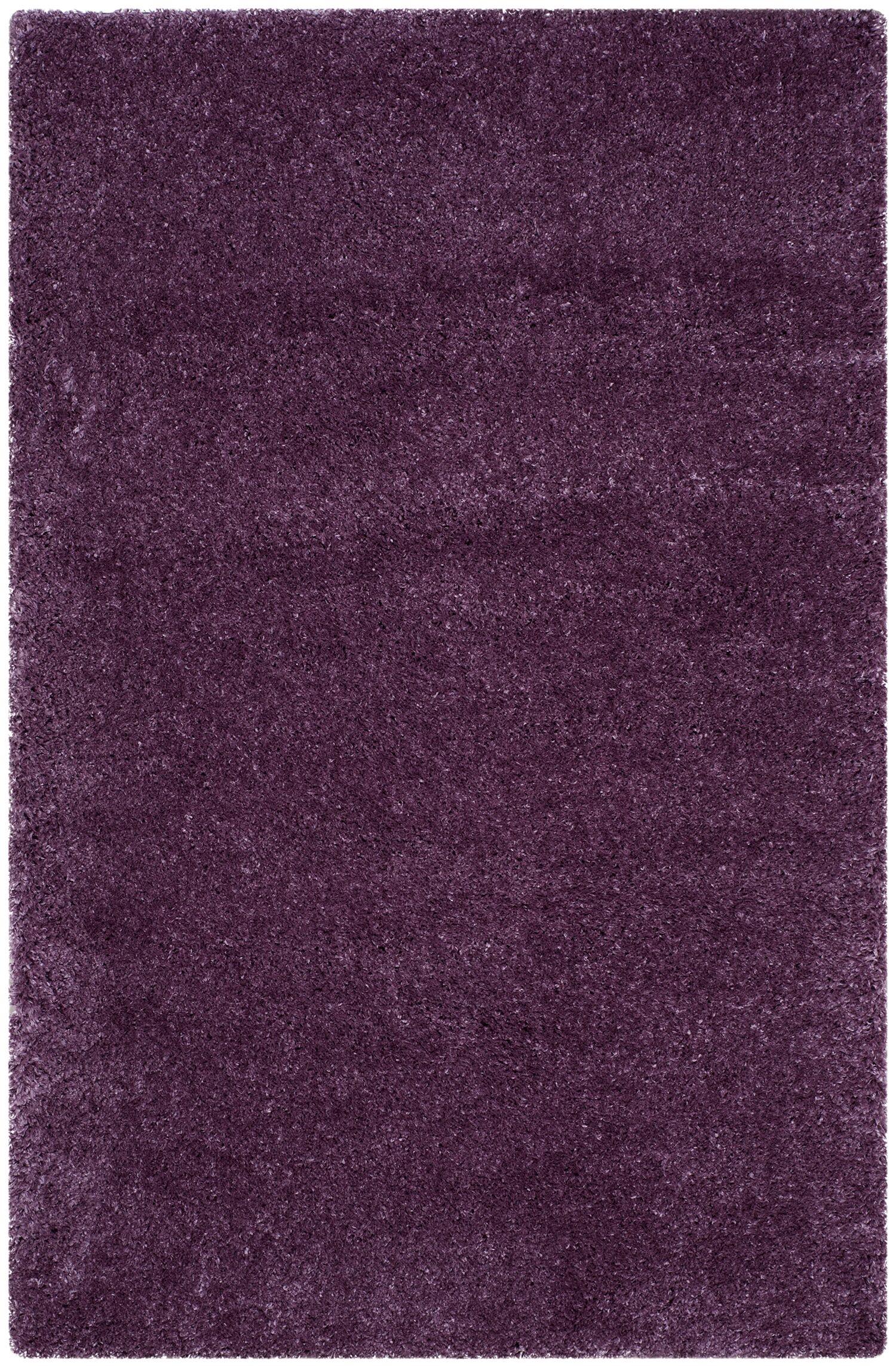 Slayton Purple Area Rug Rug Size: Rectangle 4' x 6'