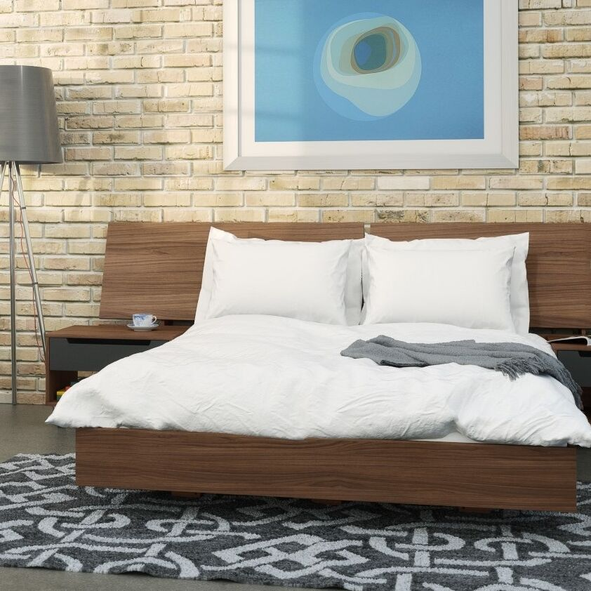 Aristocles Platform Bed Size: Queen