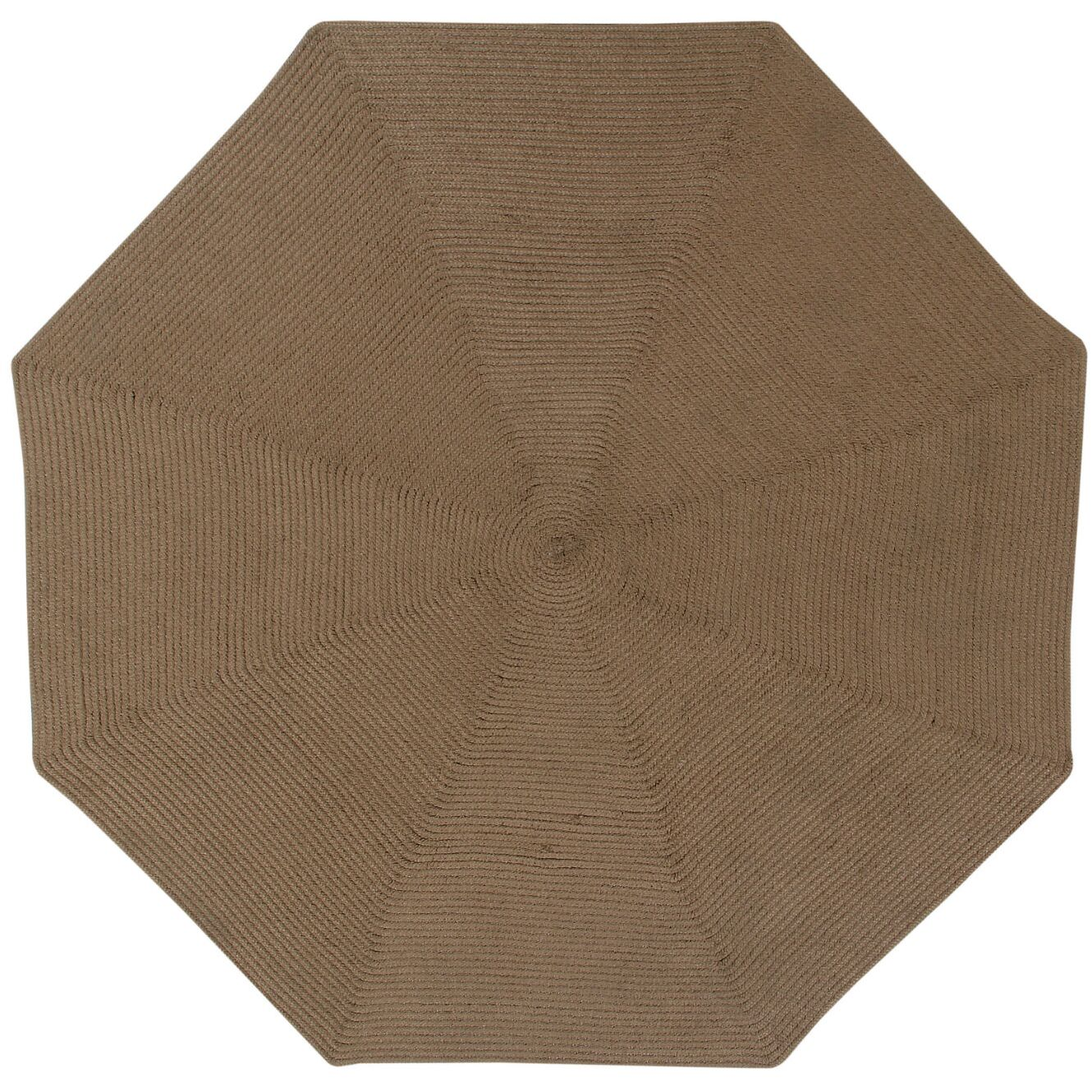 McClure Cocoa Area Rug Rug Size: Octagonal 6'