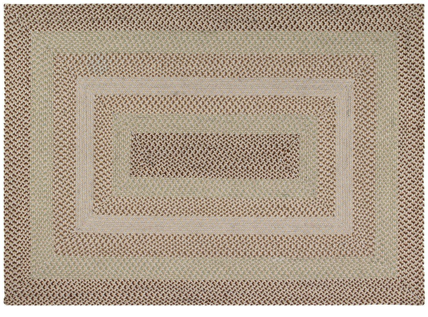 Monnie Natural Area Rug Rug Size: 6' x 9'