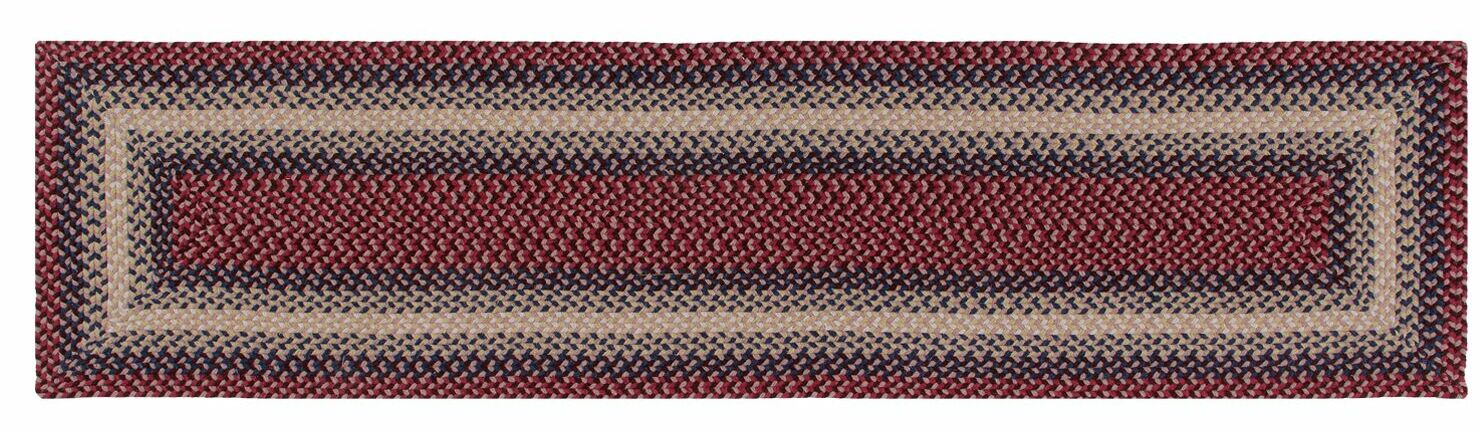 Monnie Cranberry Area Rug Rug Size: Runner 2' x 8'