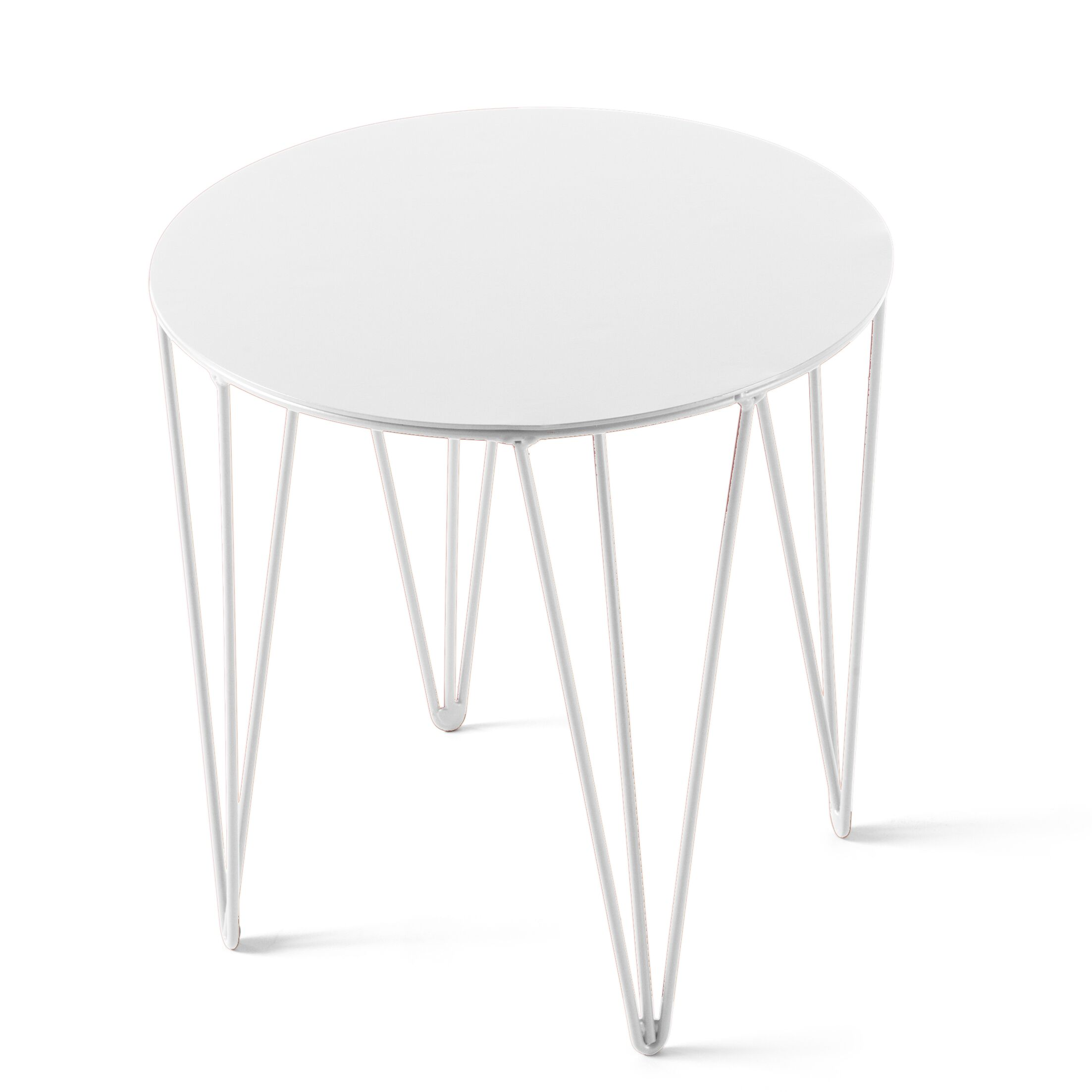 Chele Coffee Table Color: Signal White, Size: 11.75