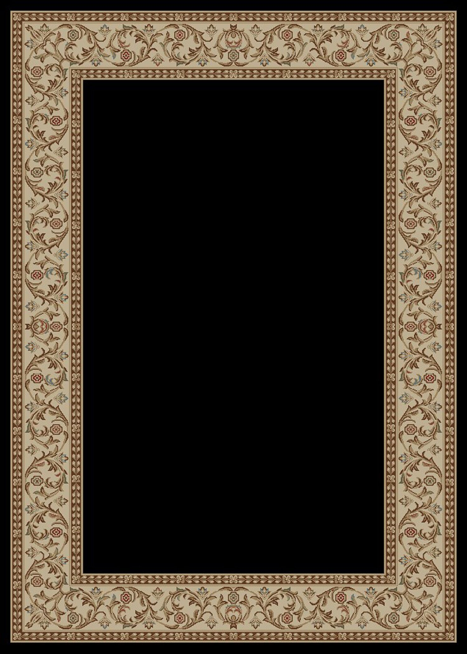 Hometown Bella Ebony Area Rug Rug Size: 8' x 10'