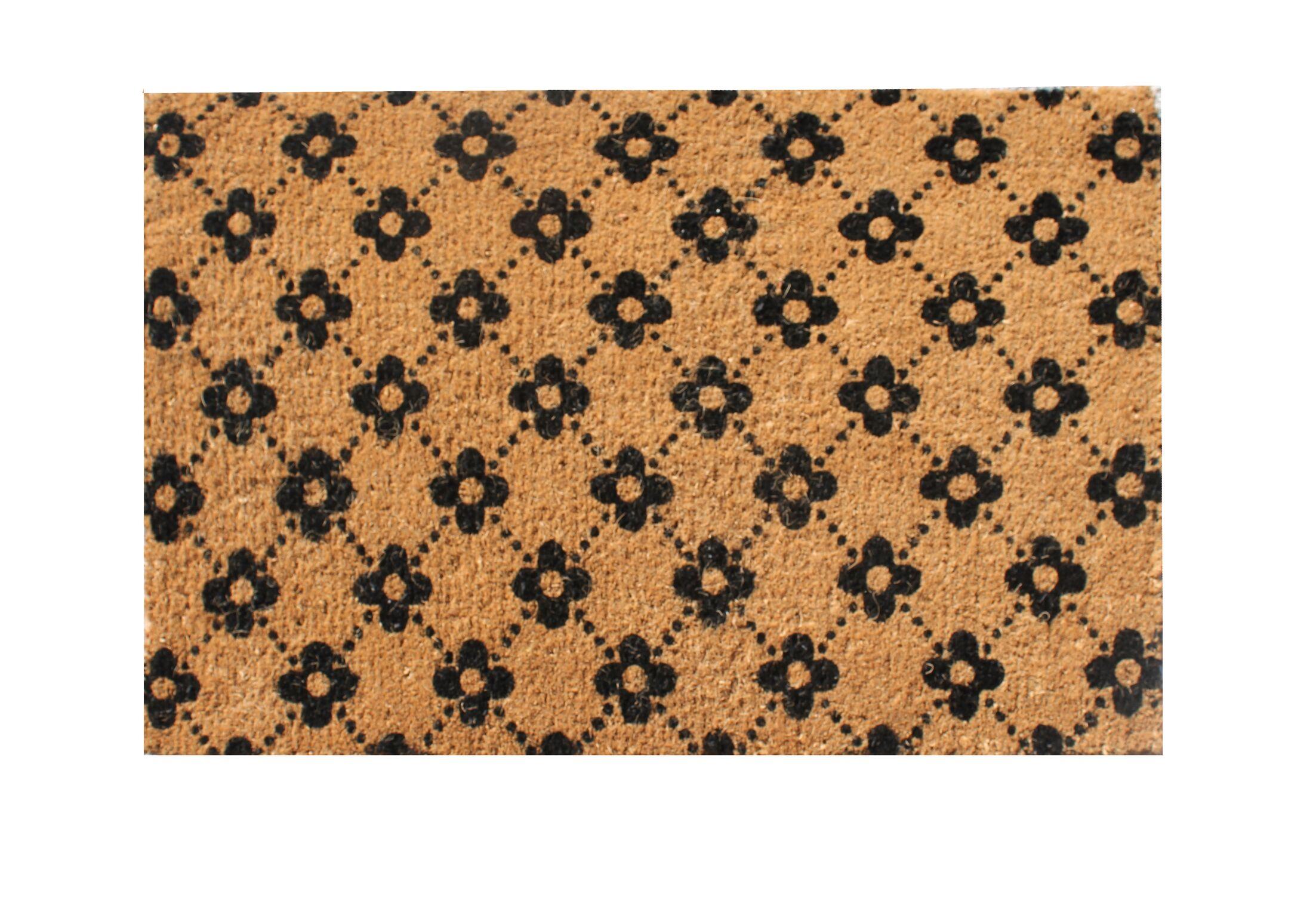 Ogee Floral Doormat