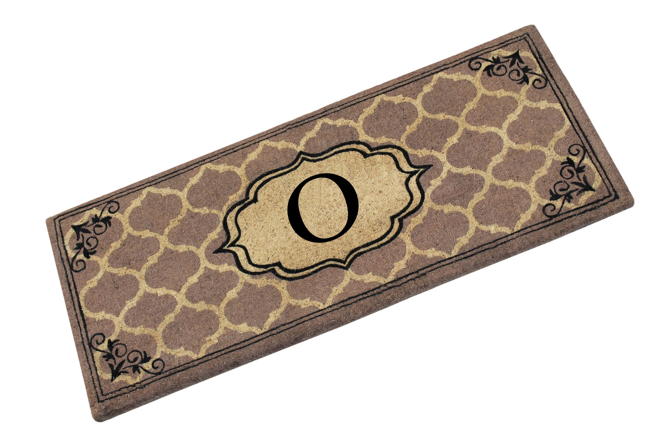 First Impression Gayle Ogee Doormat Letter: O