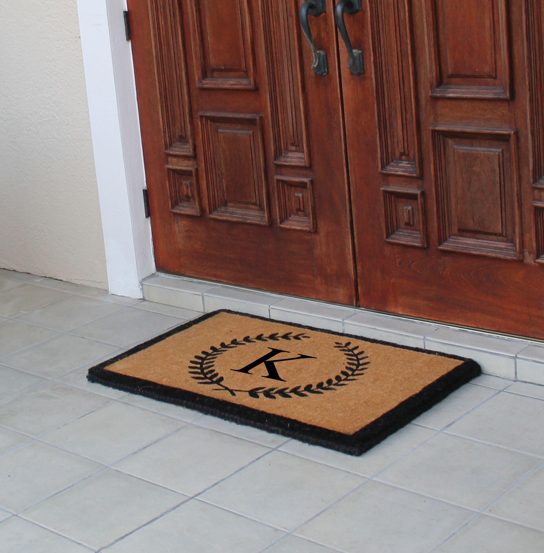 First Impression Doormat Letter: K