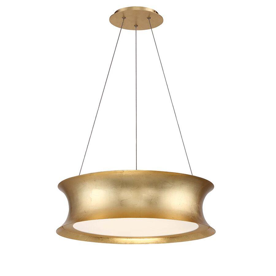 Tango 1-Light Pendant Finish: Gold Leaf