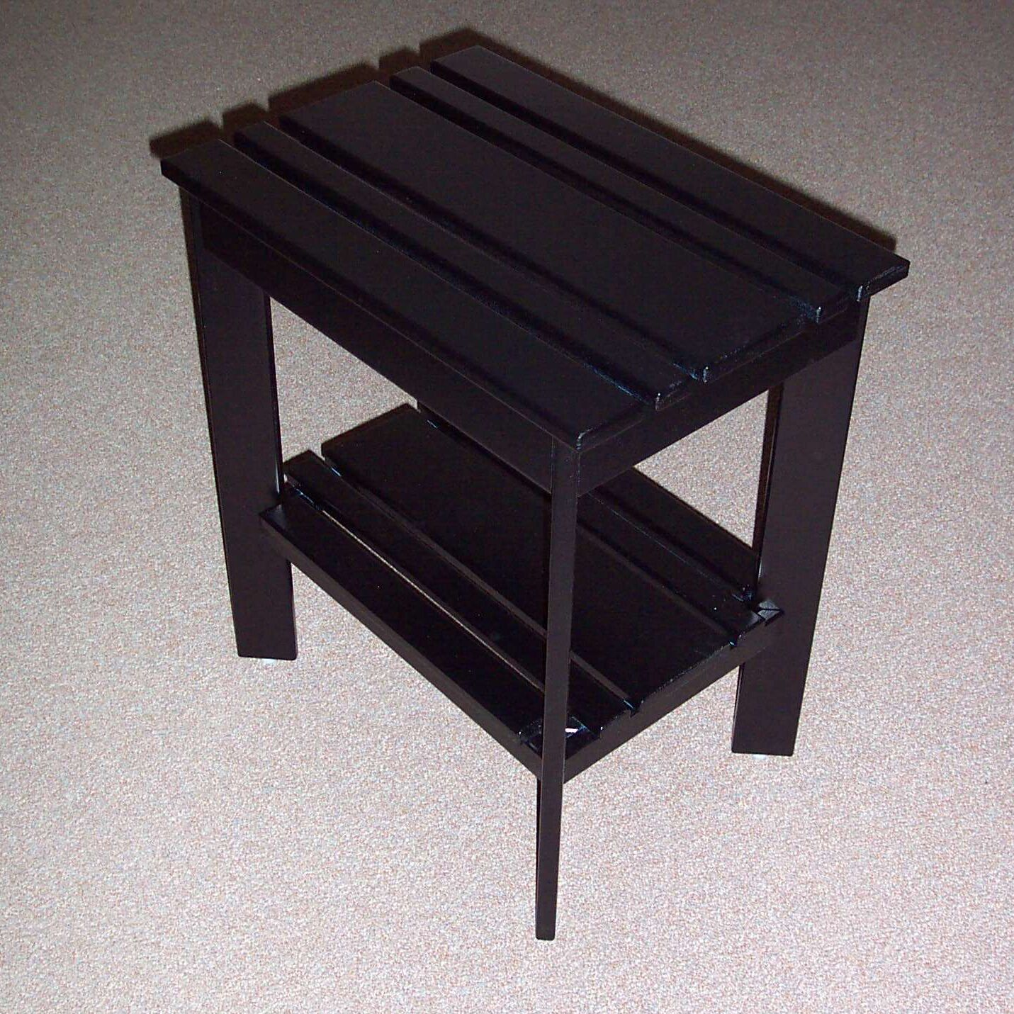 Grandparents Side Table Finish: Berry Blue