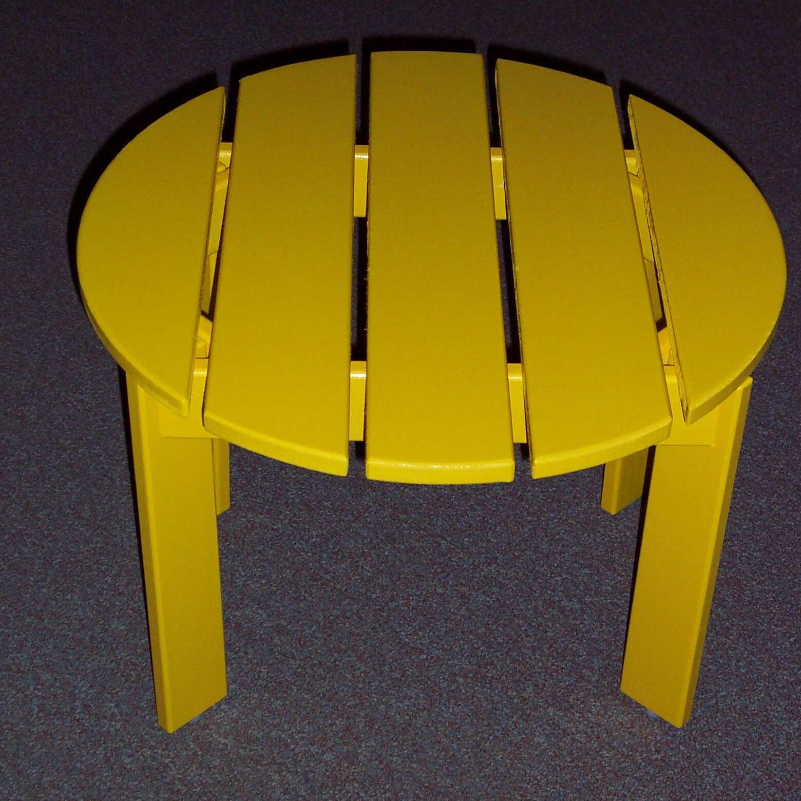 Side Table Finish: Buttercup Yellow