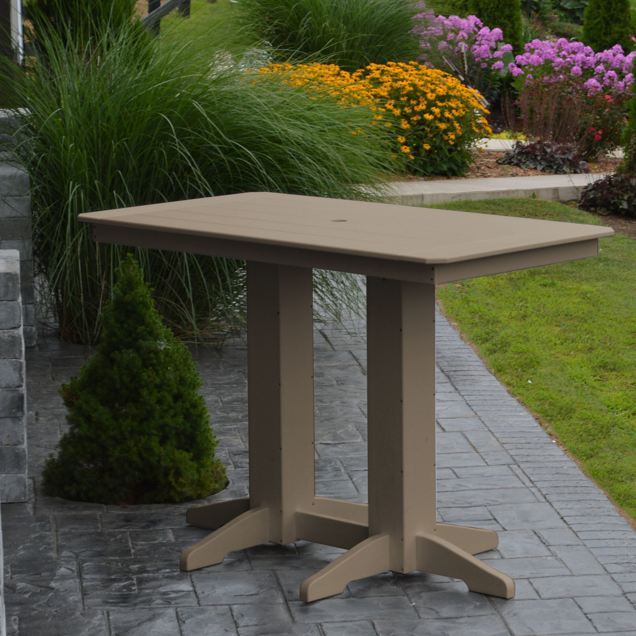 Nettie DiningTable Color: Weathered Wood