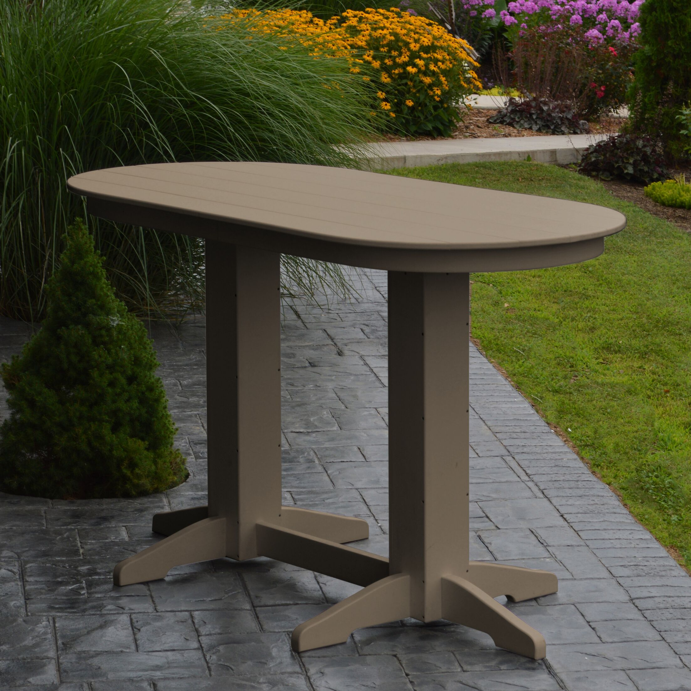 Nettie DiningTable Color: Weathered Wood, Table Size: 60