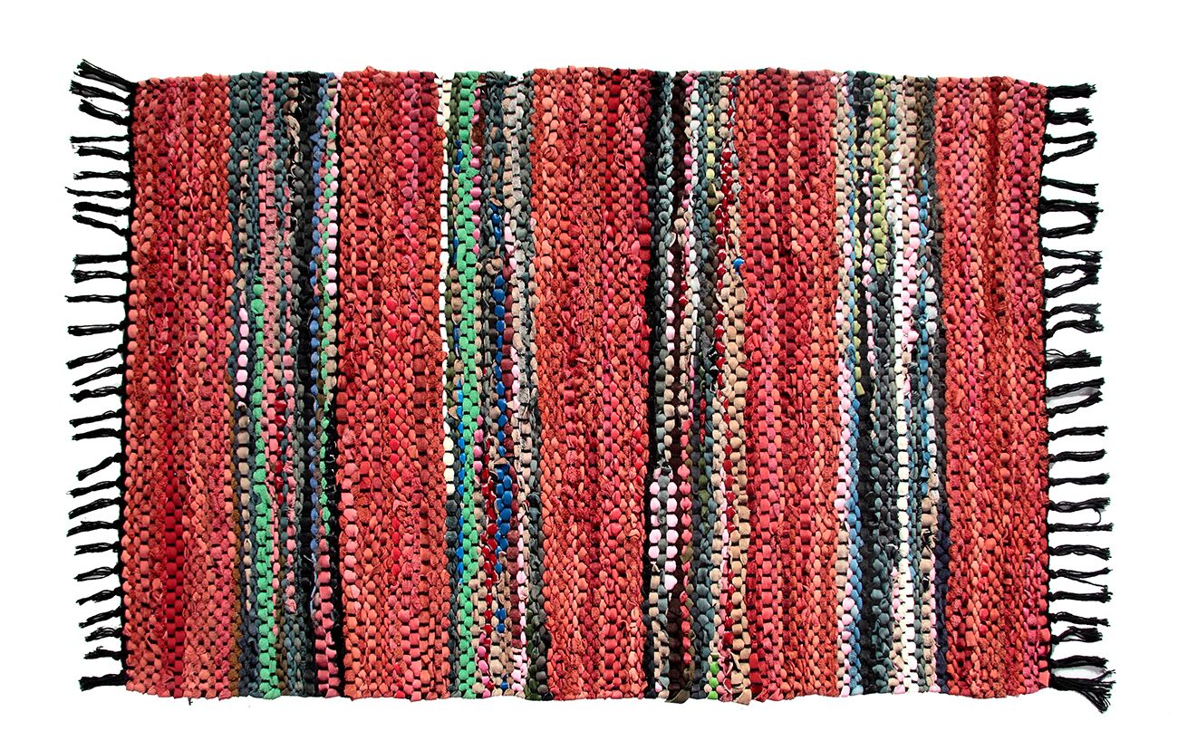 Broadway Handmade Red Area Rug Rug Size: Rectangle 5' x 8'