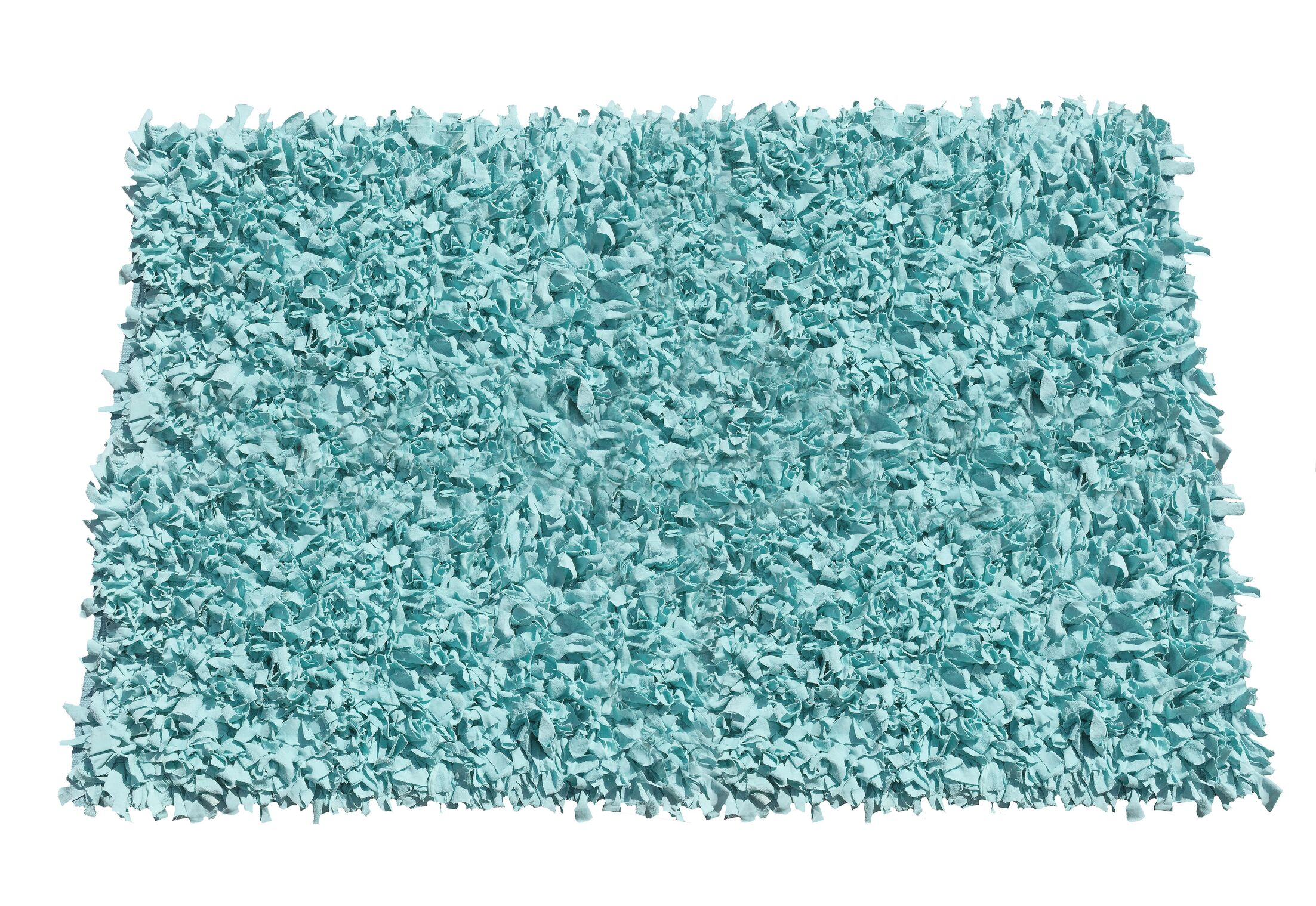 Kaylyn Shaggy Hand-Knotted Area Rug Rug Size: Rectangle 5' x 8'
