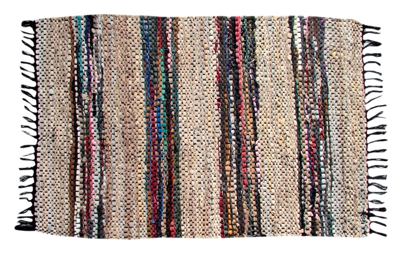 Broadway Handmade Beige Area Rug Rug Size: Rectangle 3'6