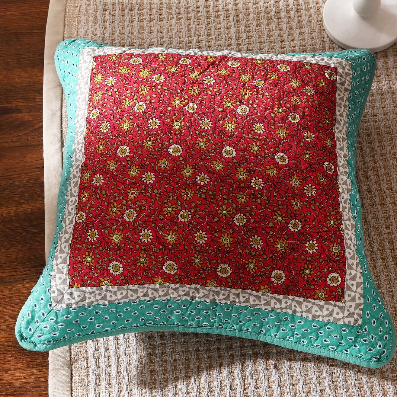 Fairy Forest Glade Pillow Cover