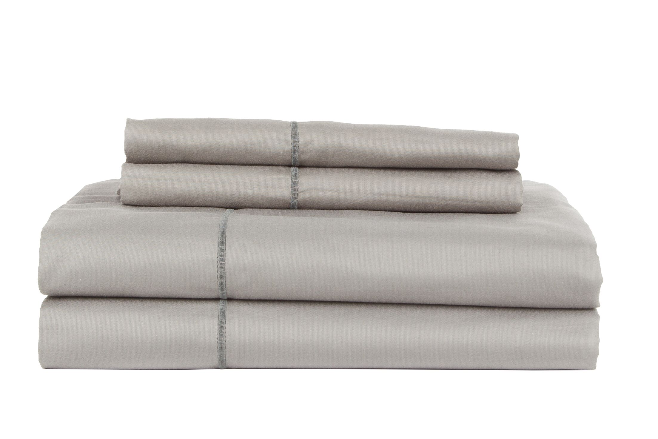 Devonshire of Nottingham 800 Thread Count Egyptian Quality Cotton Sheet Set Color: Gray, Size: King