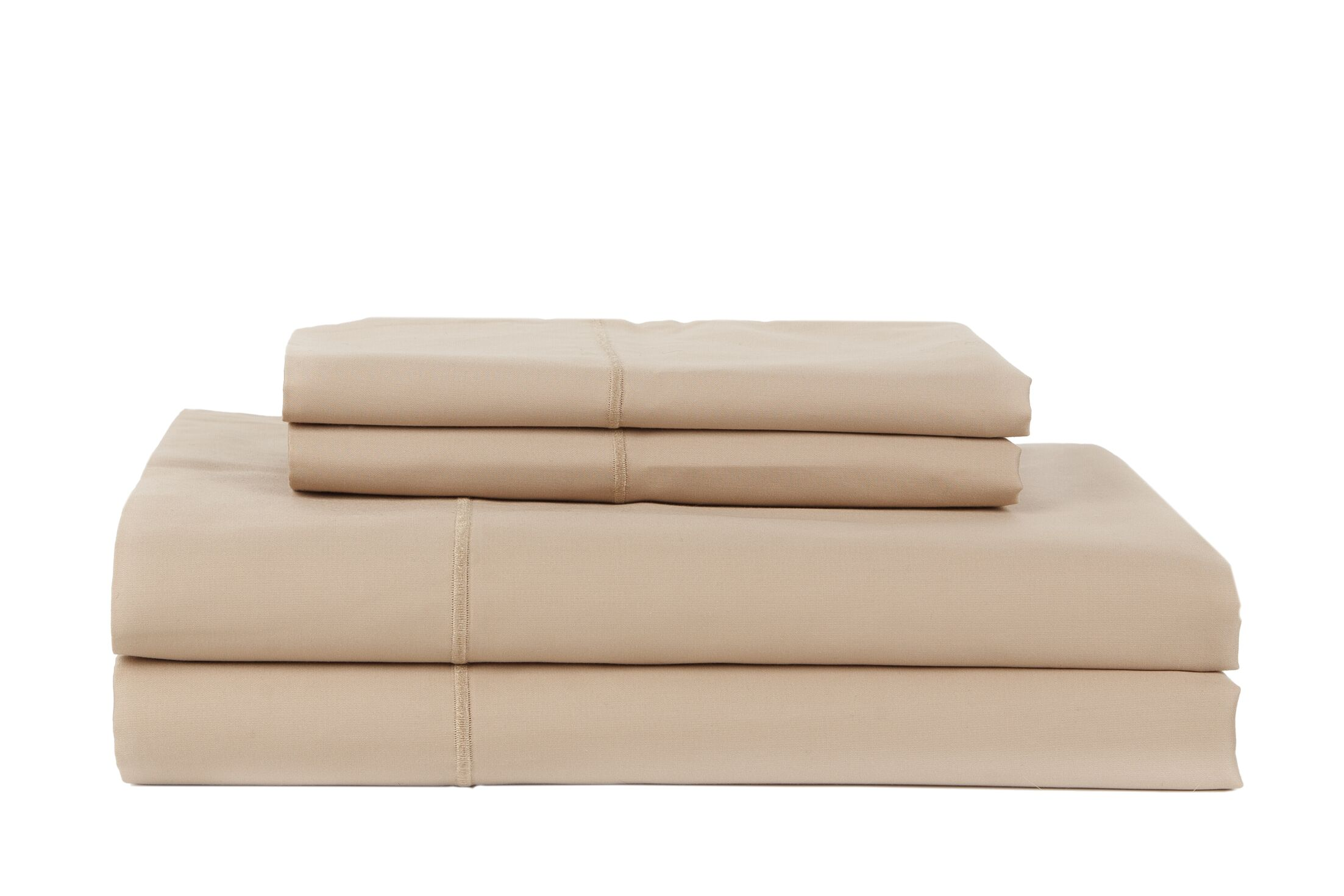 Devonshire of Nottingham 650 Thread Count Egyptian Quality Cotton Sheet Set Color: Taupe, Size: Queen