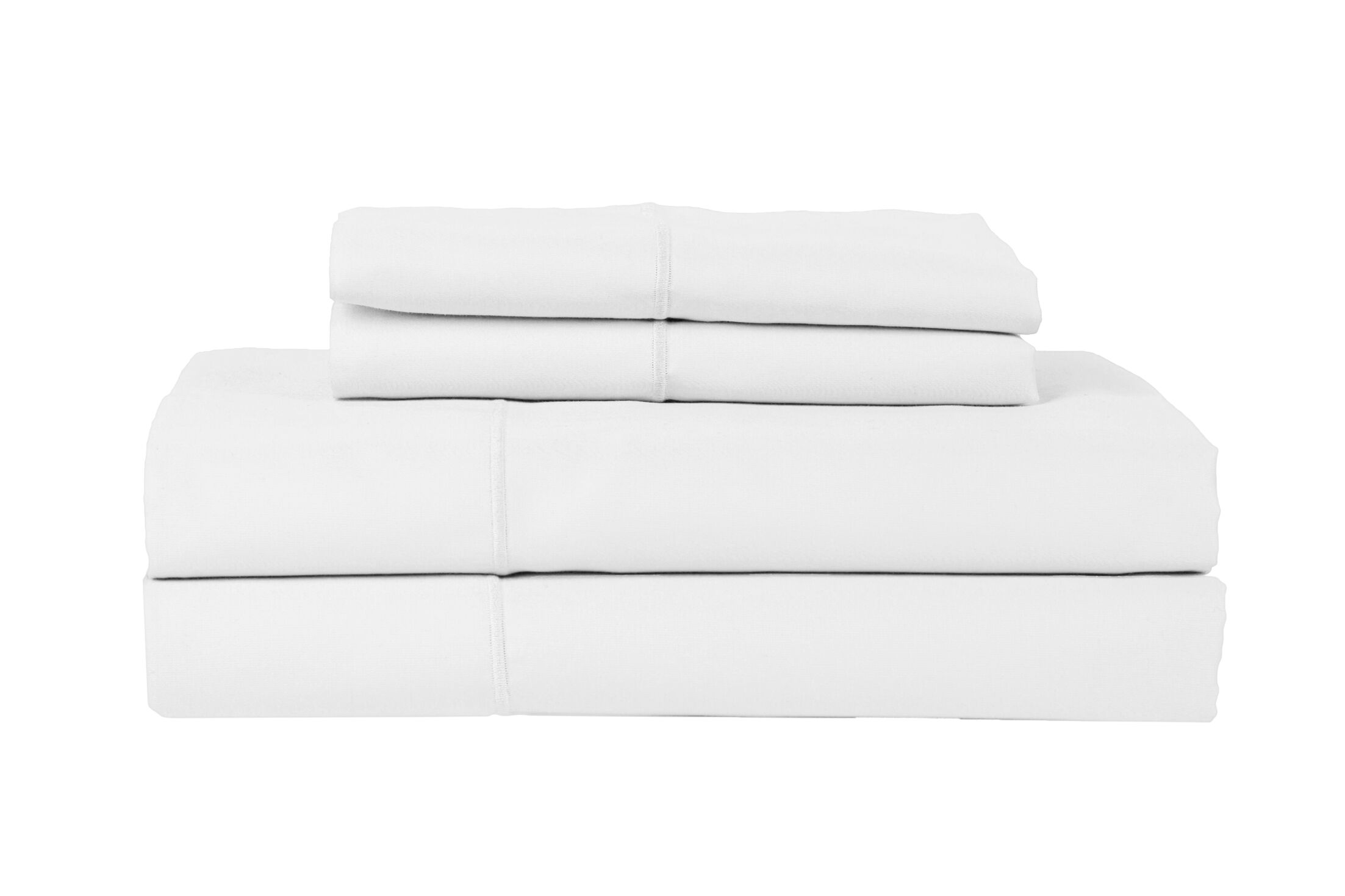 Devonshire of Nottingham 650 Thread Count Egyptian Quality Cotton Sheet Set Size: King, Color: White