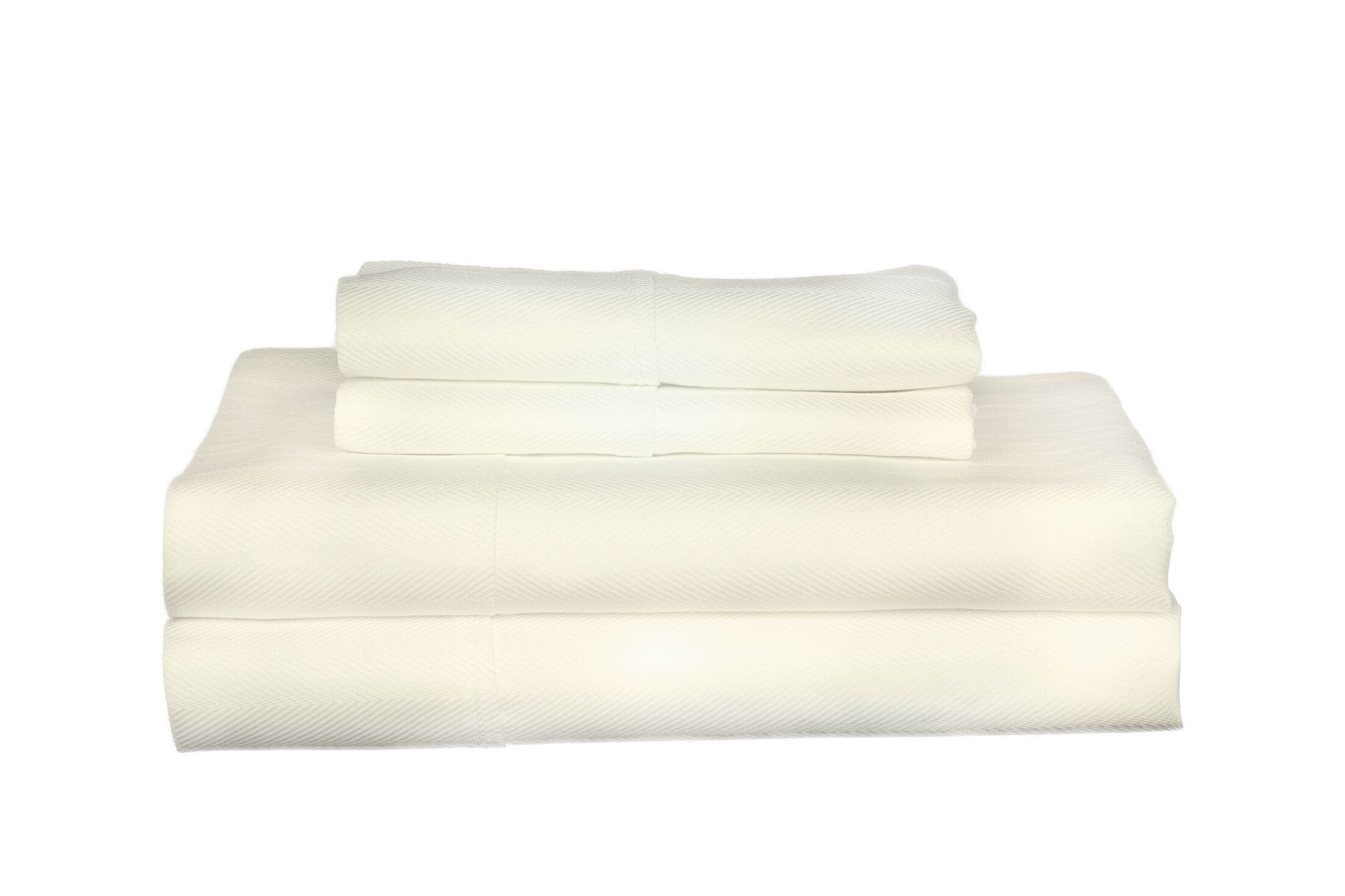 Devonshire of Nottingham 700 Thread Count Egyptian Quality Cotton Sheet Set Color: Ivory, Size: King