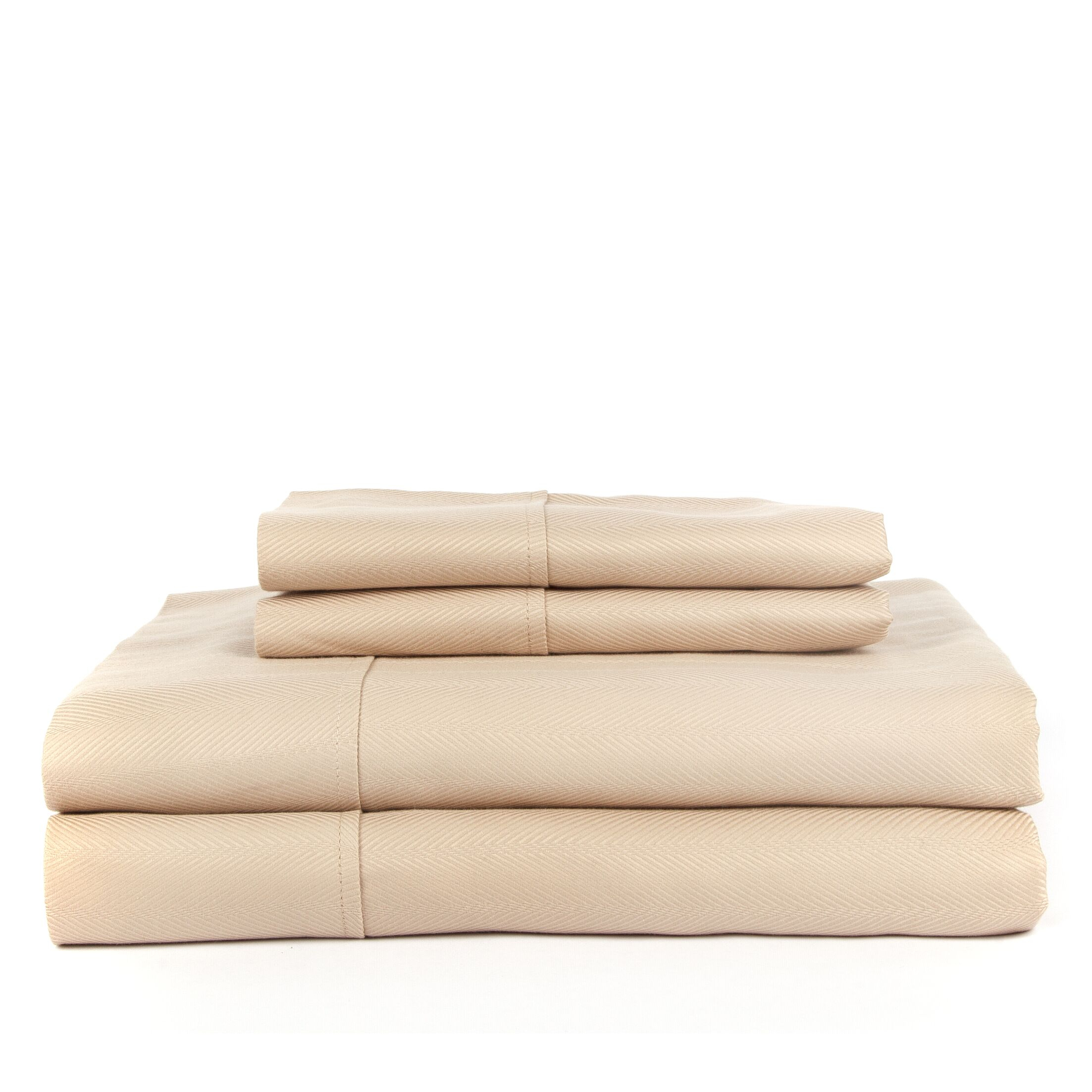 Devonshire of Nottingham 700 Thread Count Egyptian Quality Cotton Sheet Set Color: Taupe, Size: King