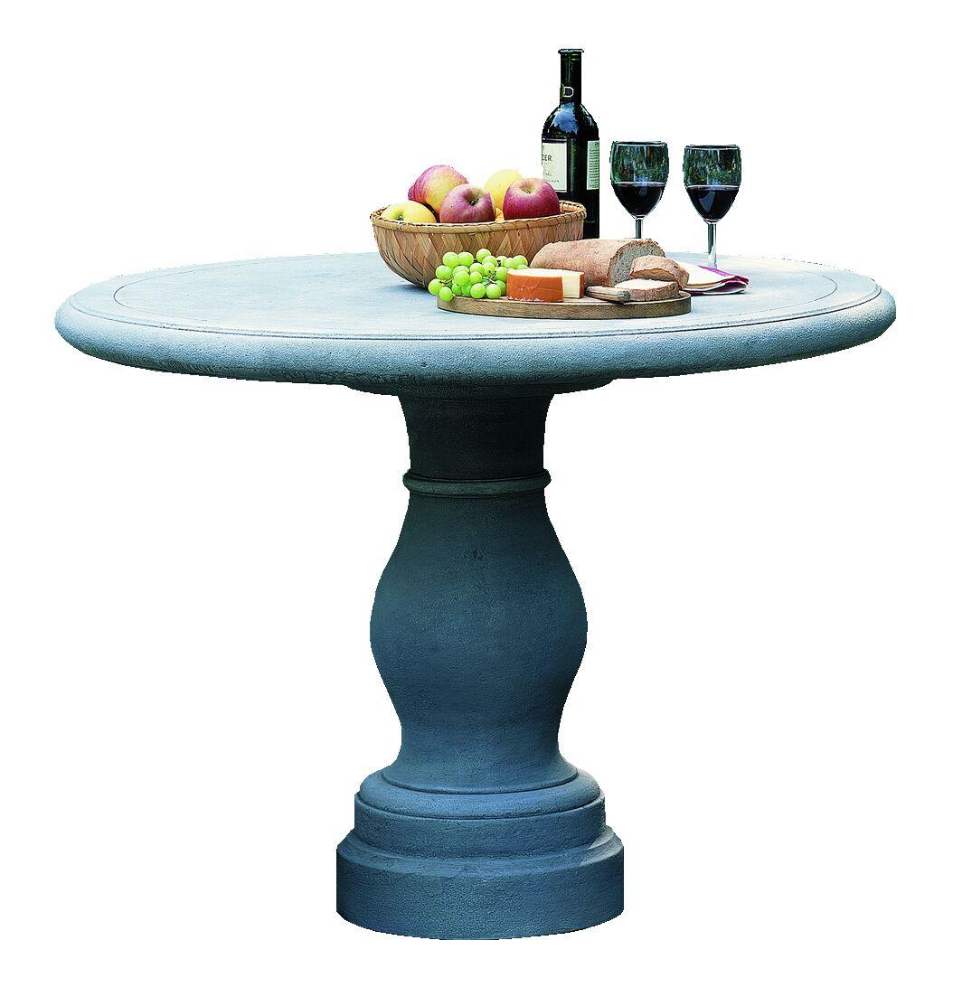 Palladio Cast Stone Bistro Table Finish: Alpine Stone