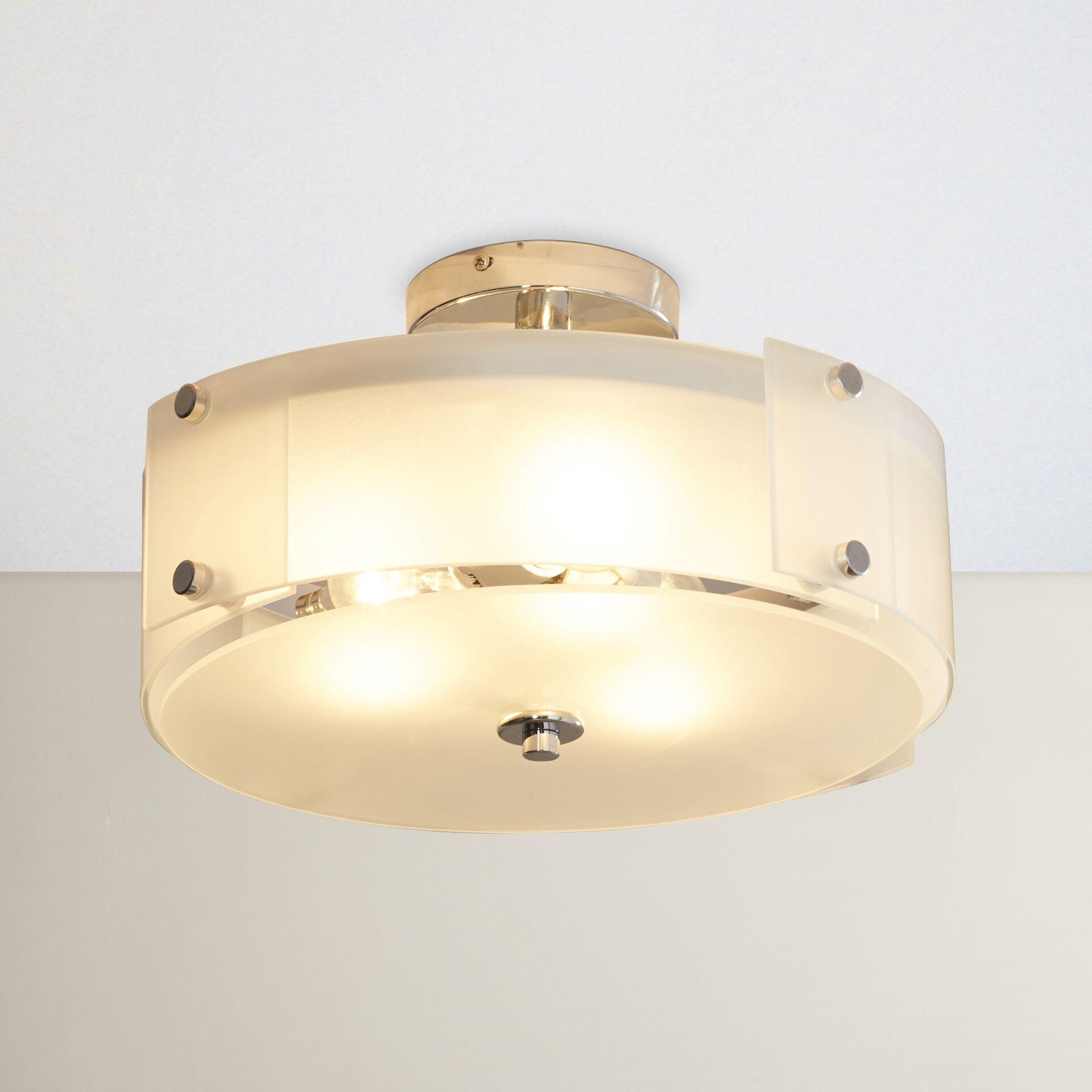 Carillon 3-Light Semi Flush Mount