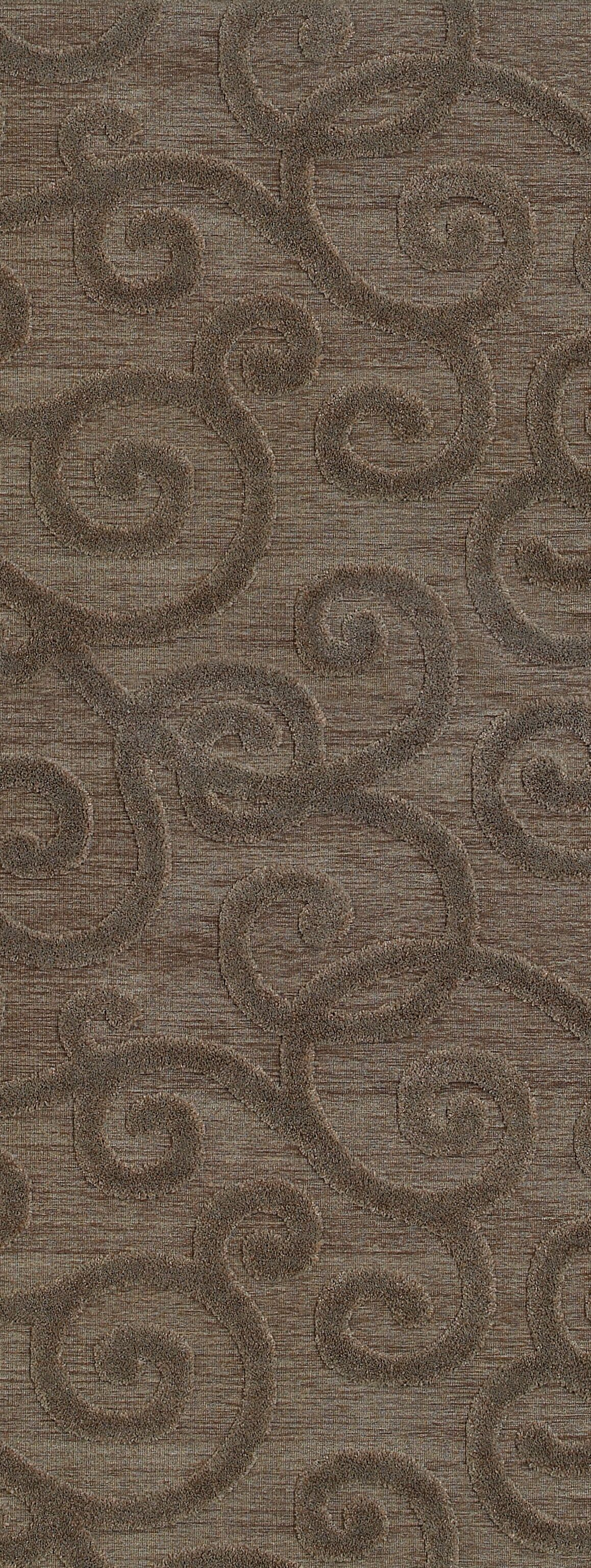 McCarthy Brown/Gray Area Rug Rug Size: Runner 2'2