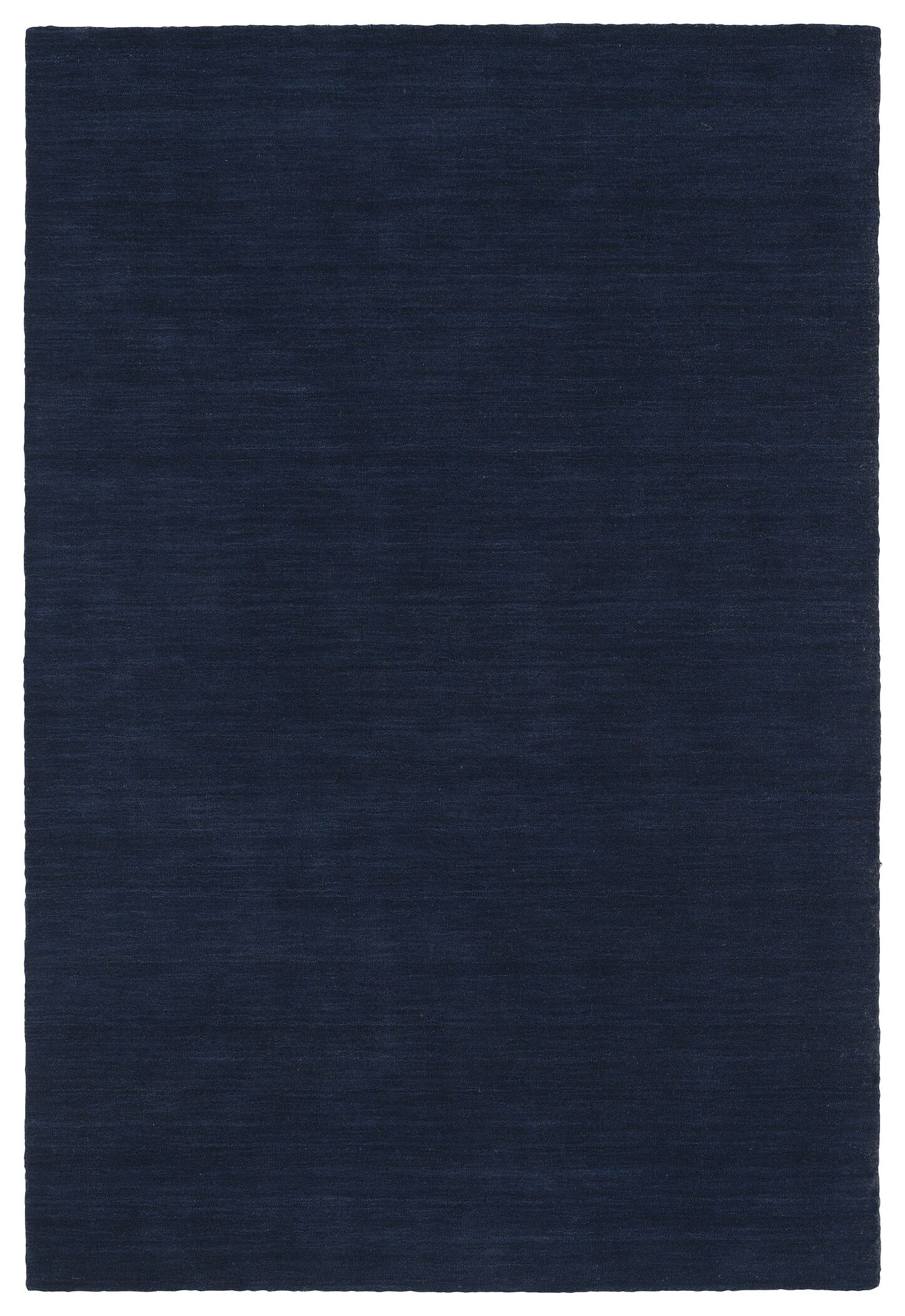 McCabe Hand-Loomed Navy Area Rug Rug Size: Rectangle 5' x 7'6
