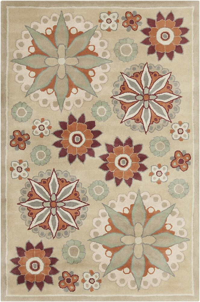 Willow Hand Tufted Wool Tan/Taupe Area Rug
