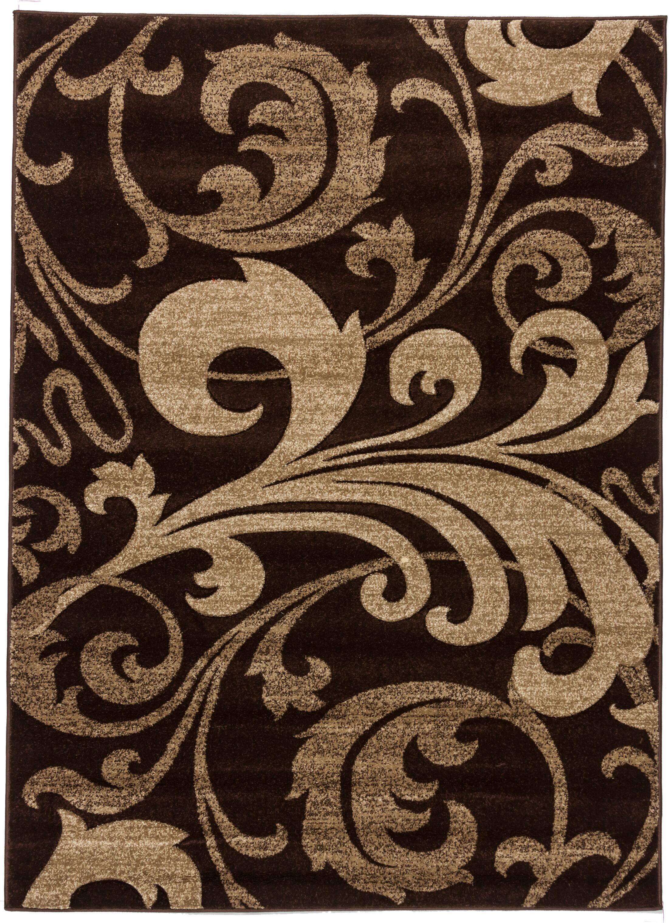 Waynesfield Fleur De Lis Geometric Area Rug Rug Size: Rectangle 5'3