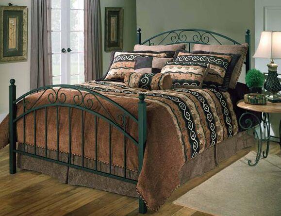 Atrakchi Panel Bed Size: King