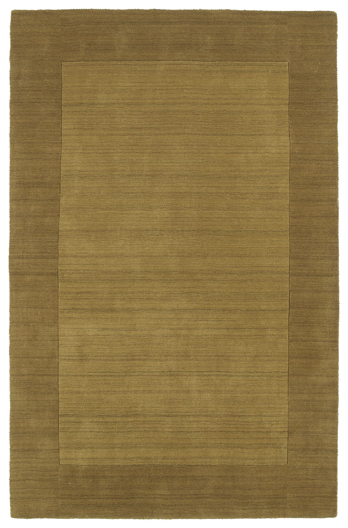 Attles Solid Kids Yellow Rug Rug Size: Rectangle 3'6