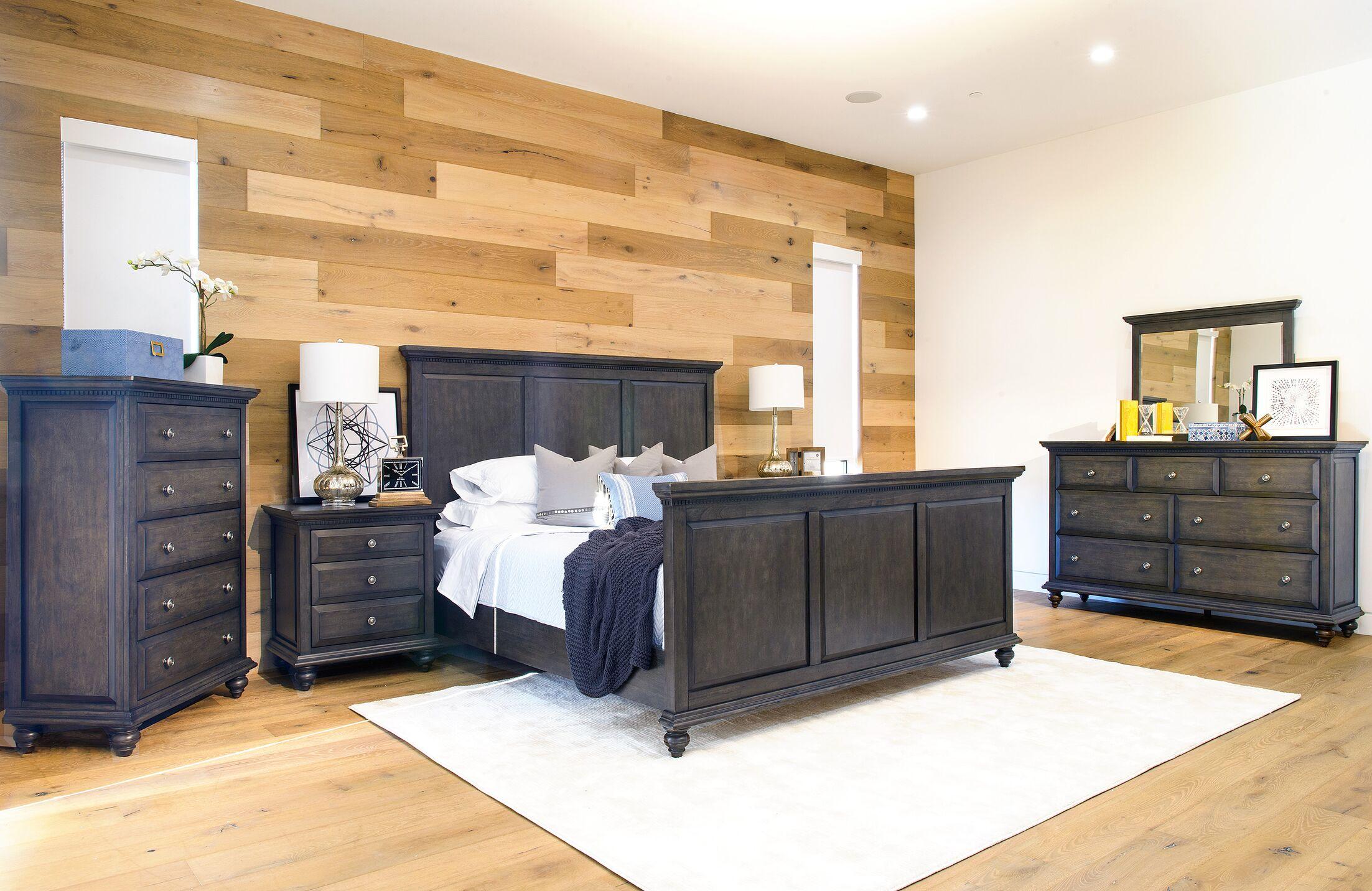 Dezirae Platform Configurable Bedroom Set