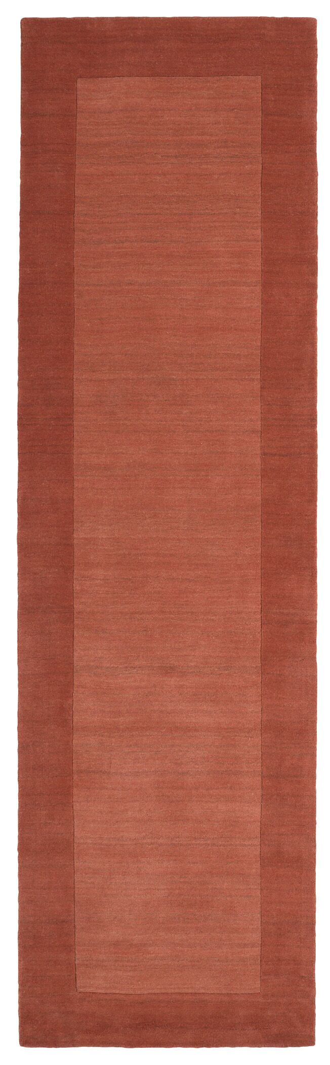 Barnard Hand Tufted Brown Area Rug Rug Size: Runner 2'6