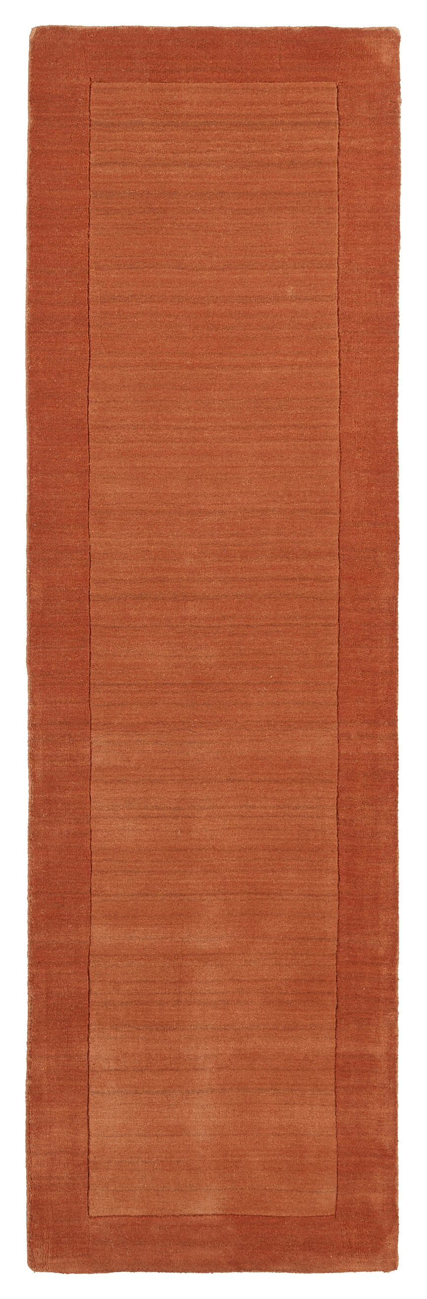 Barnard Pumpkin Area Rug Rug Size: Rectangle 8' x 10'