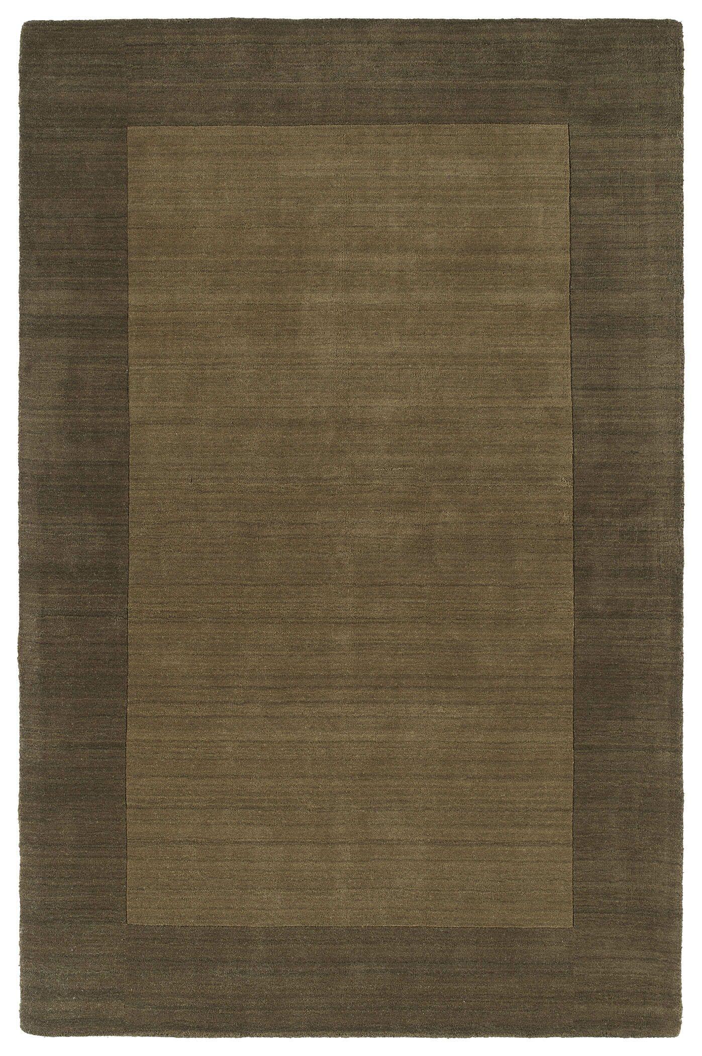 Barnard Chocolate Area Rug Rug Size: Rectangle 5' x 7'9