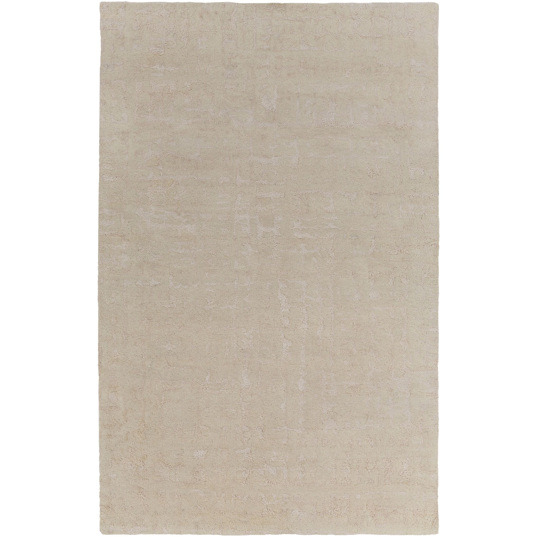 Donnellson Hand-Tufted Cream/Wheat Area Rug Rug Size: Rectangle 5' x 8'
