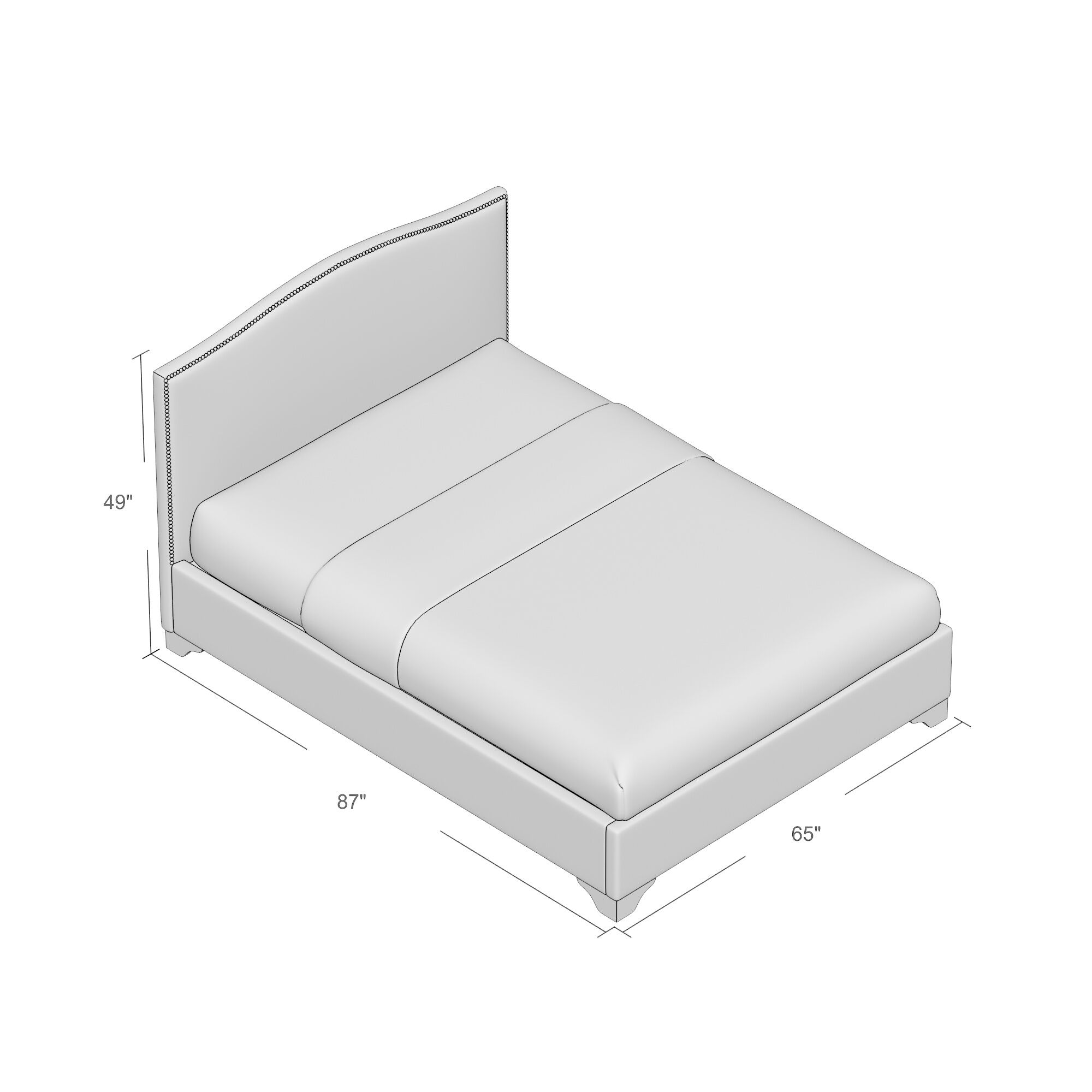 Obrien Upholstered Platform Bed Size: Queen